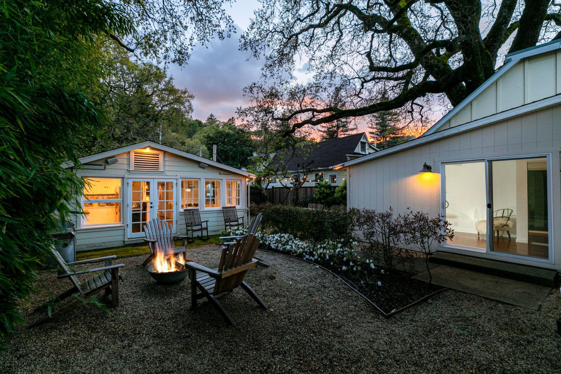 Single Family Homes para Venda às San Anselmo Charmer 27 Laurel Avenue, San Anselmo, Califórnia 94960 Estados Unidos