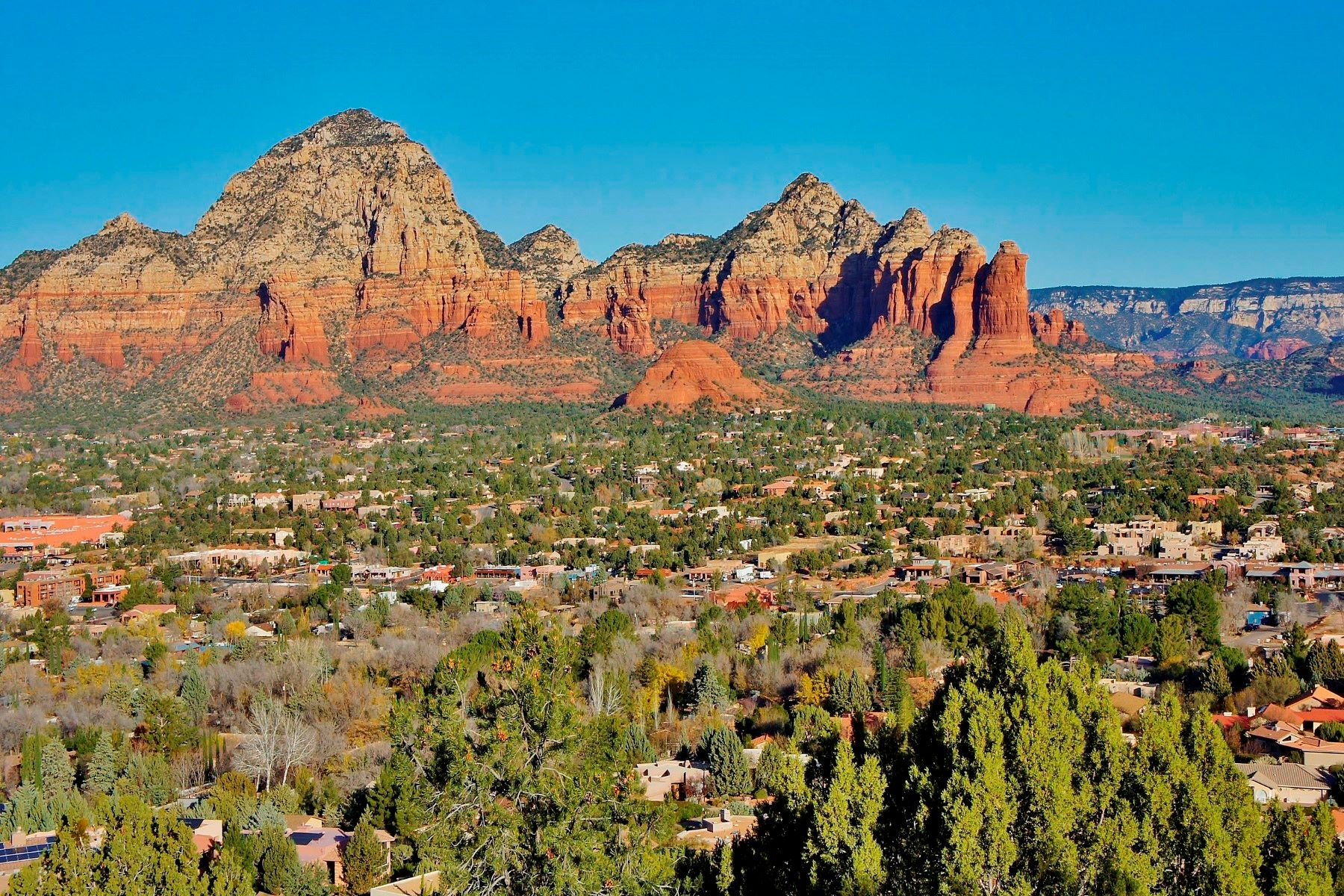 토지 용 매매 에 Rare Residential Acreage with Stunning Views 815 & 855 Airport Rd, Sedona, 아리조나, 86336 미국