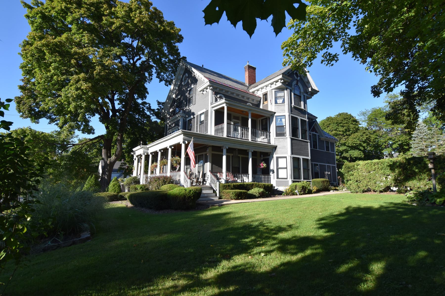 Single Family Home for Sale at Grand Victorian located in multi-use zone 70 North Main St Rutland, Vermont 05701 United States