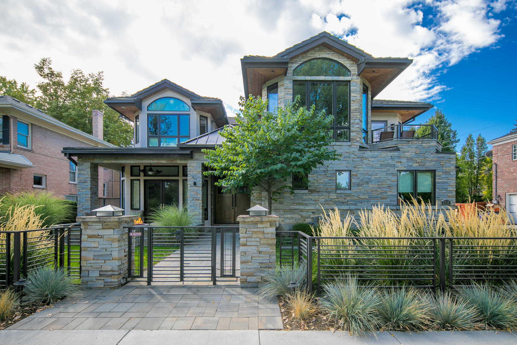 Single Family Homes for Sale at Beautiful Custom Home in Observatory Park 2930 East Iliff Ave Denver, Colorado 80210 United States
