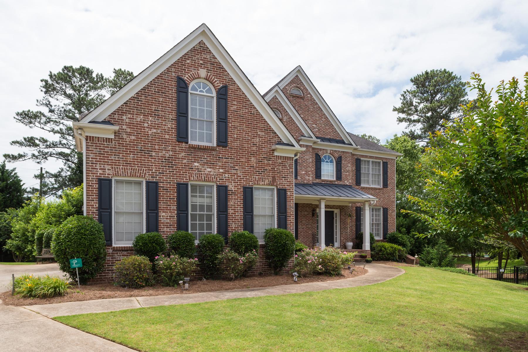 Maison unifamiliale pour l Vente à Amazing Brick Home in East Cobb Finest School District! 918 Saints Court Marietta, Georgia, 30068 États-Unis