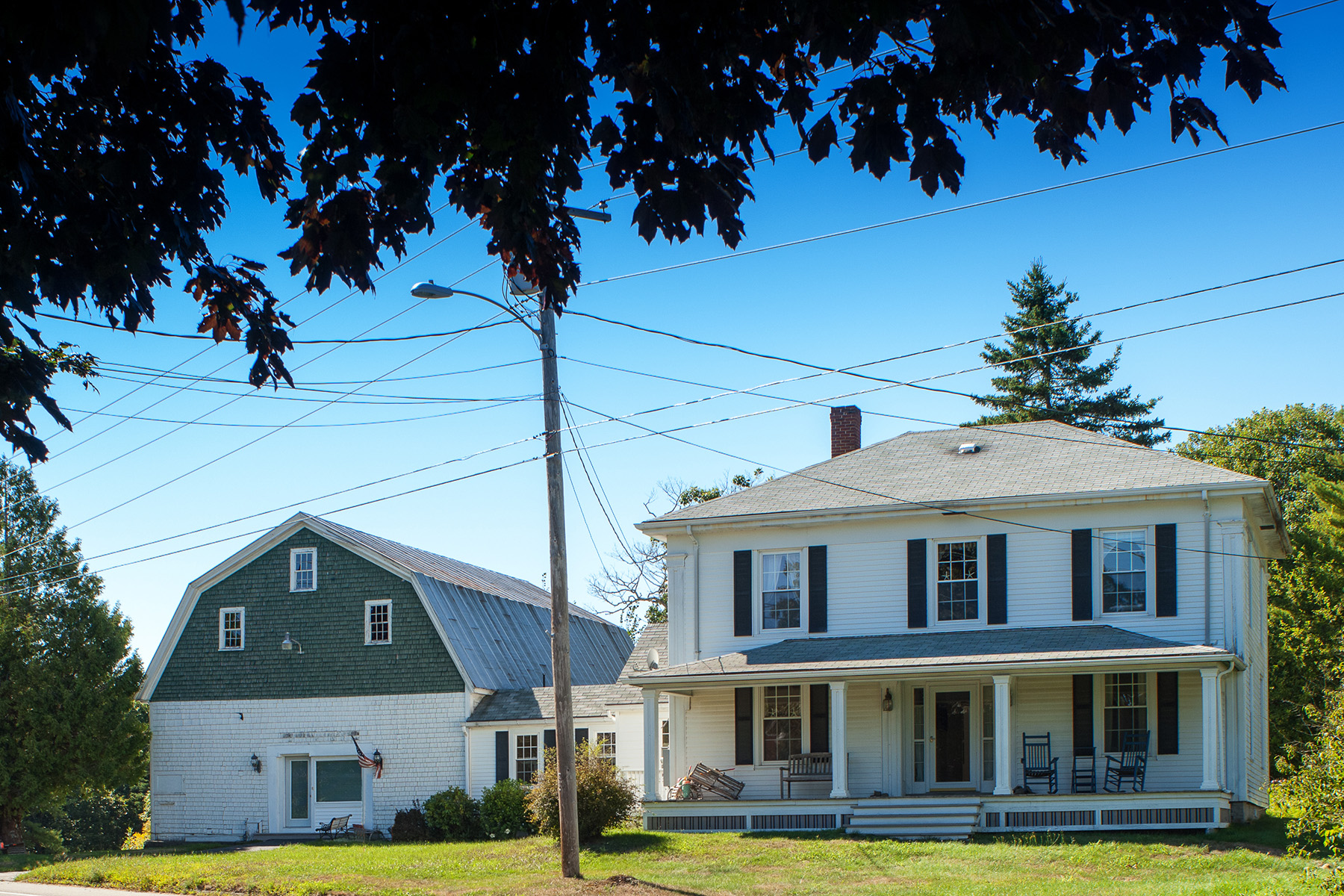 Single Family Home for Sale at 102 Ocean Point Road Boothbay, Maine 04532 United States