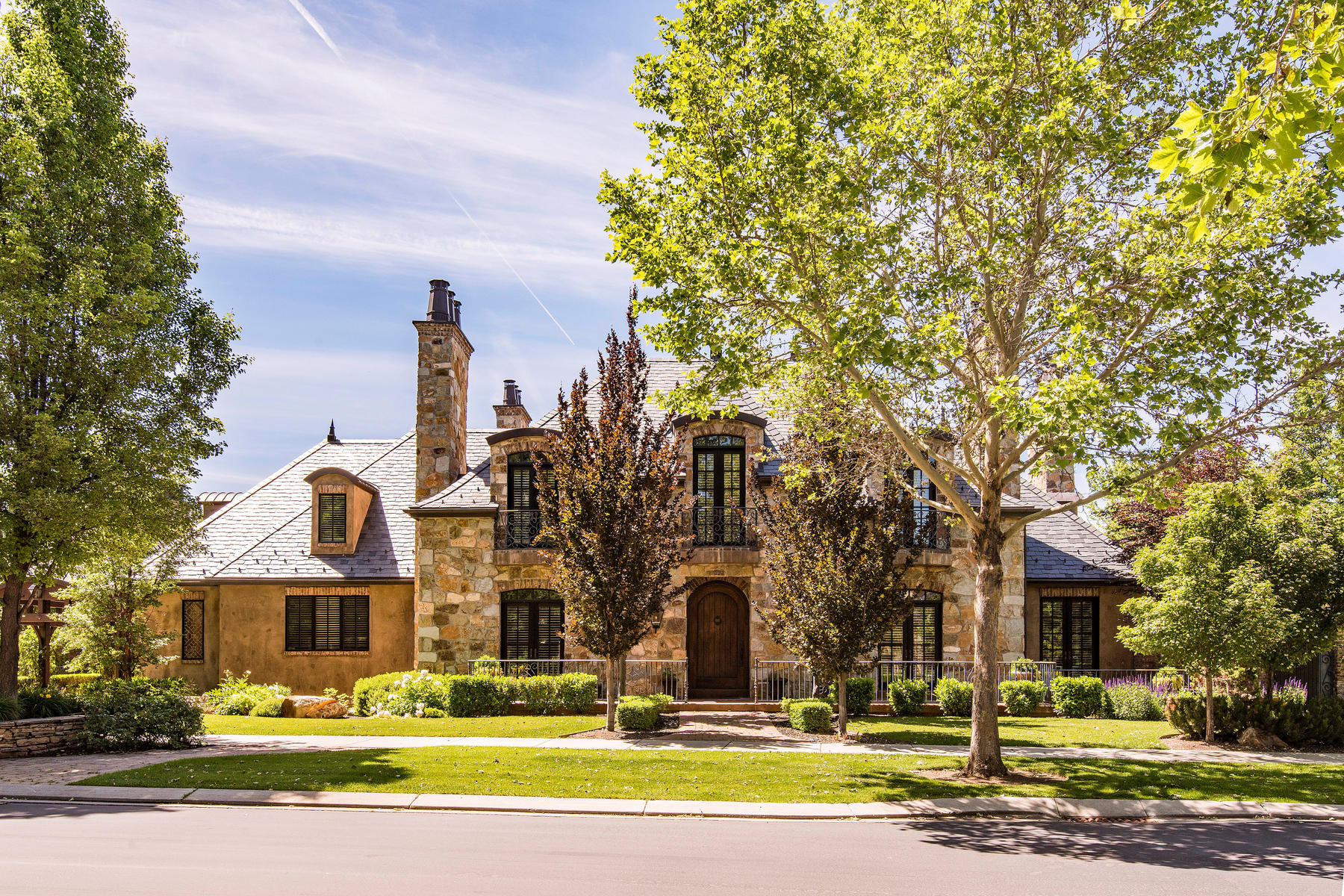 Single Family Homes for Active at Stone Gate's Finest, The French Chateaux 223 West Stone Brook Lane Provo, Utah 84604 United States