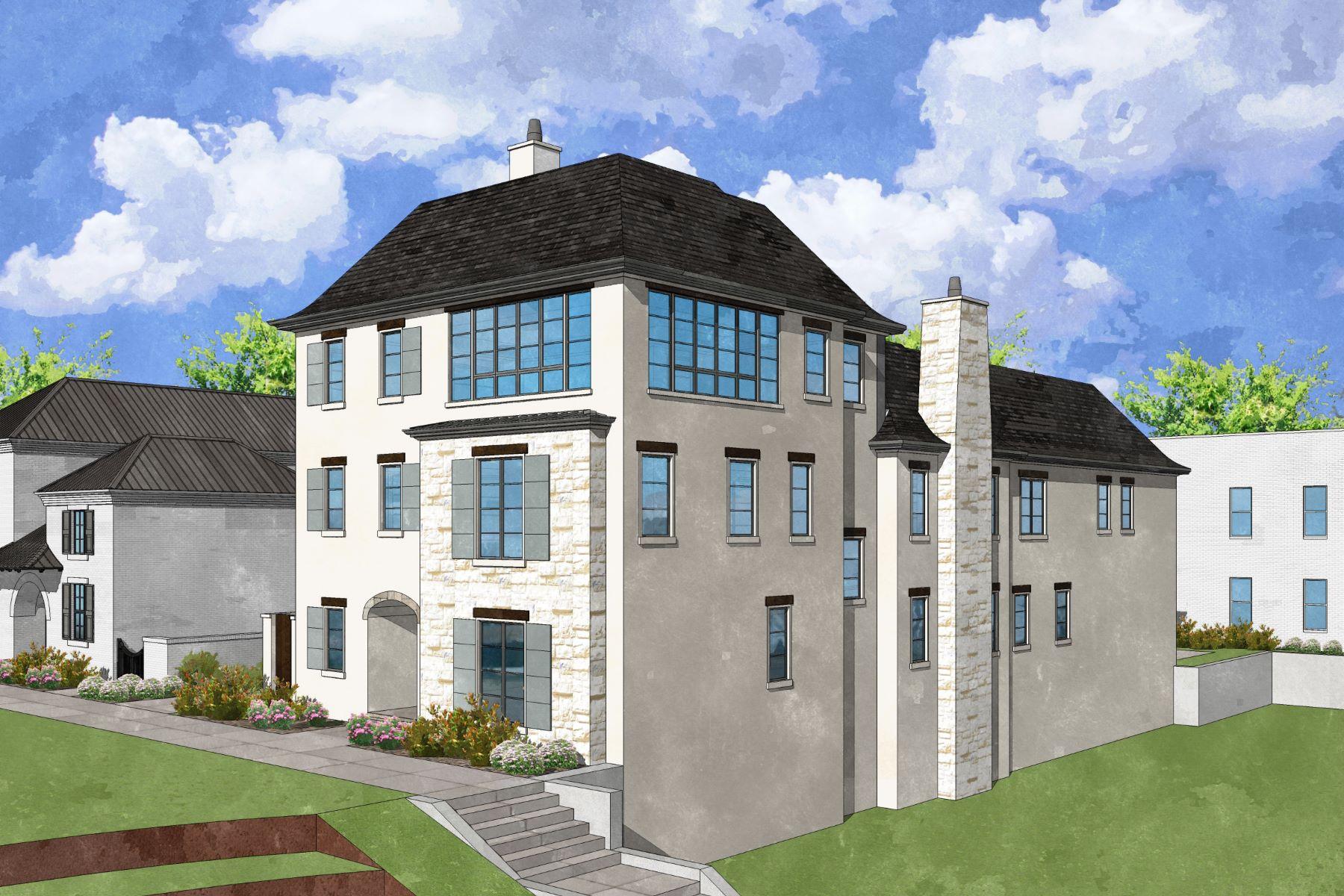 Casa unifamiliar adosada (Townhouse) por un Venta en New Construction Townhome 217 N Esplanade Alpharetta, Georgia, 30009 Estados Unidos