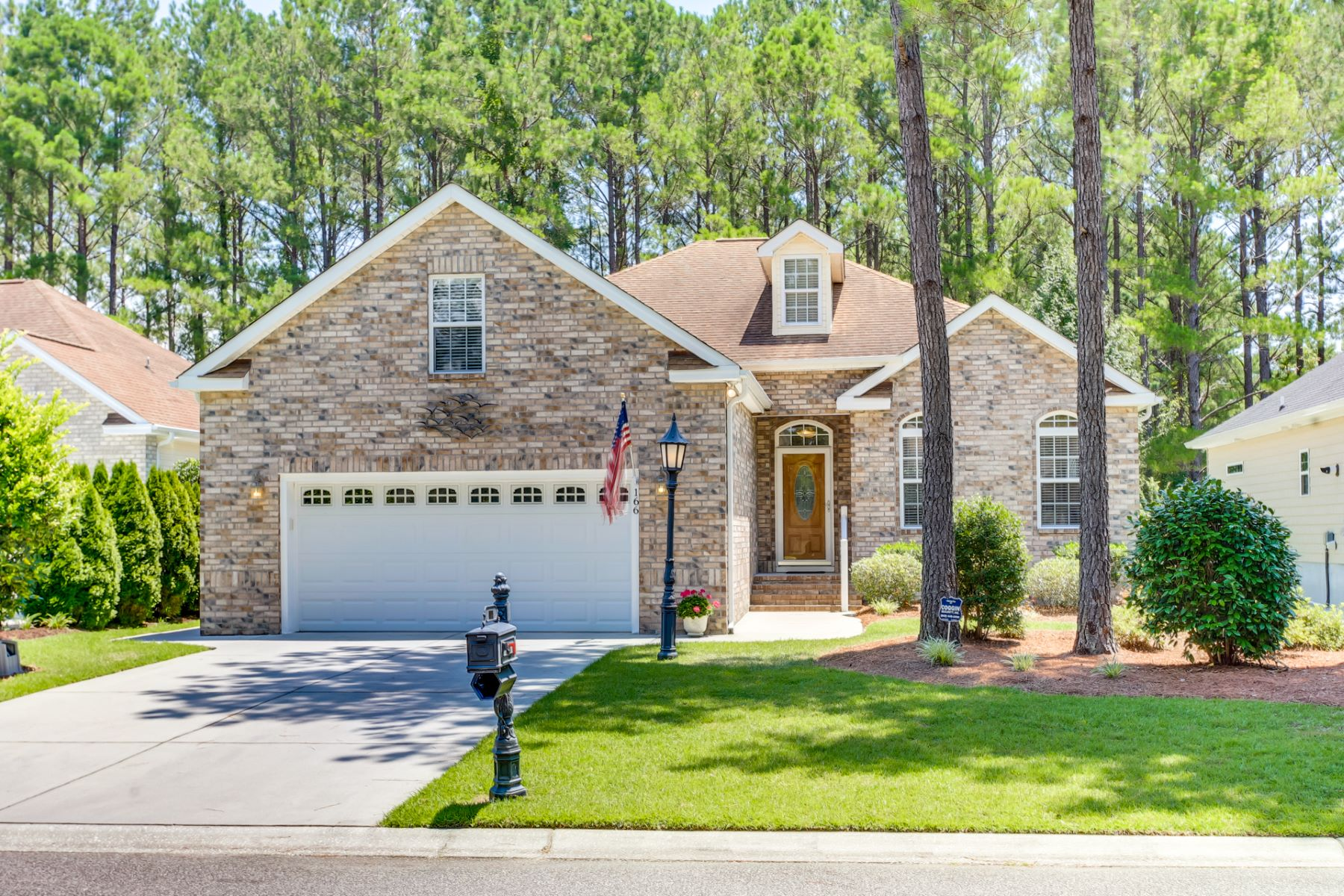 Single Family Homes for Active at Well Maintained Home in Gated Community 166 Bernard Drive NW Calabash, North Carolina 28467 United States