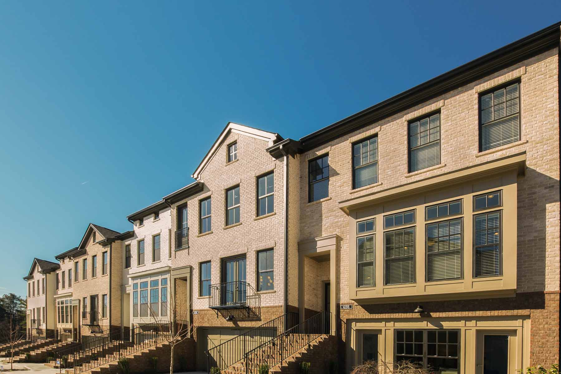 Townhouse for Sale at New Construction Townhome in the Heart of Dunwoody 4330 Georgetown Square Unit 17 Dunwoody, Georgia 30338 United States