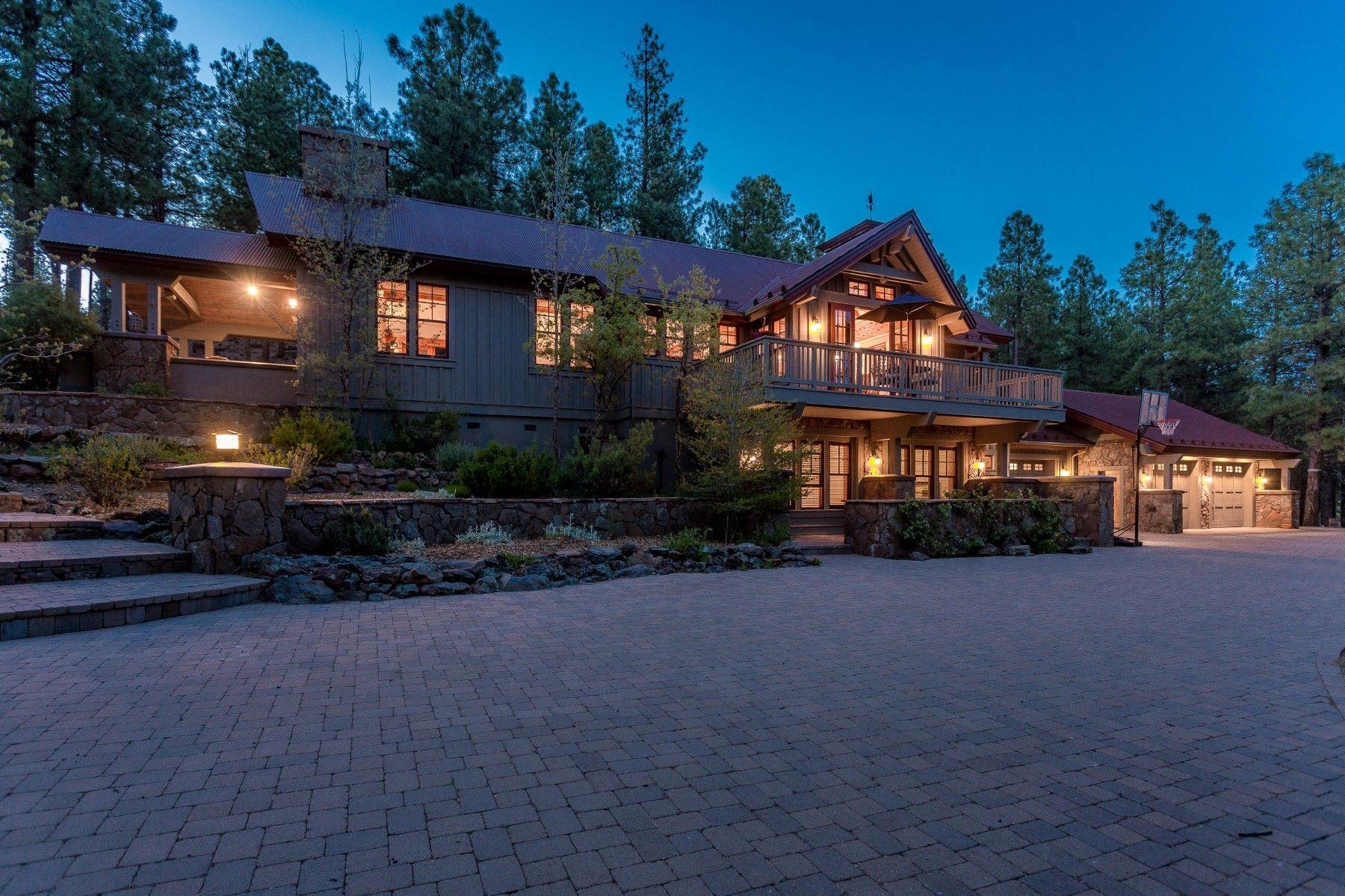 Single Family Homes por un Venta en Stunningly Sophisticated Custom Home 4075 Madera Ranch Road Flagstaff, Arizona 86001 Estados Unidos