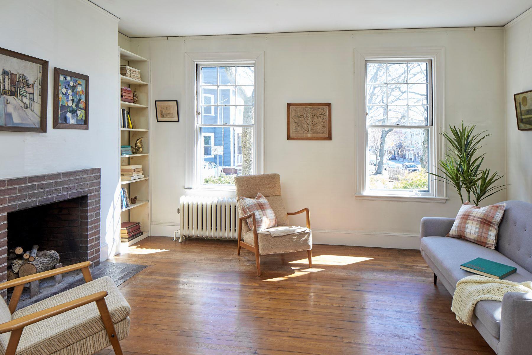 Single Family Homes για την Πώληση στο Cambridge, Μασαχουσετη 02139 Ηνωμένες Πολιτείες