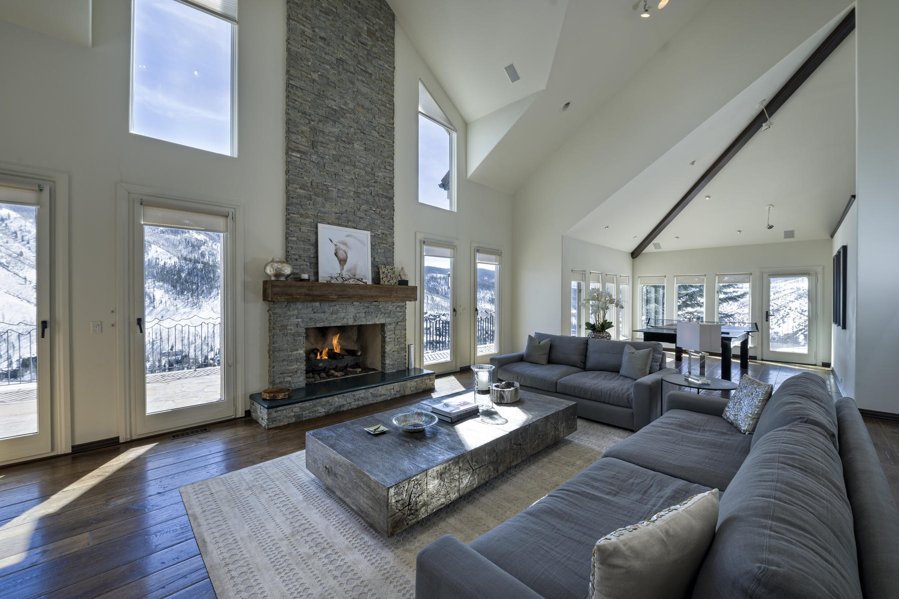 Single Family Home for Sale at Magnificent views of the Gore Range Mountains 1675 Aspen Ridge Road Vail, Colorado, 81657 United States