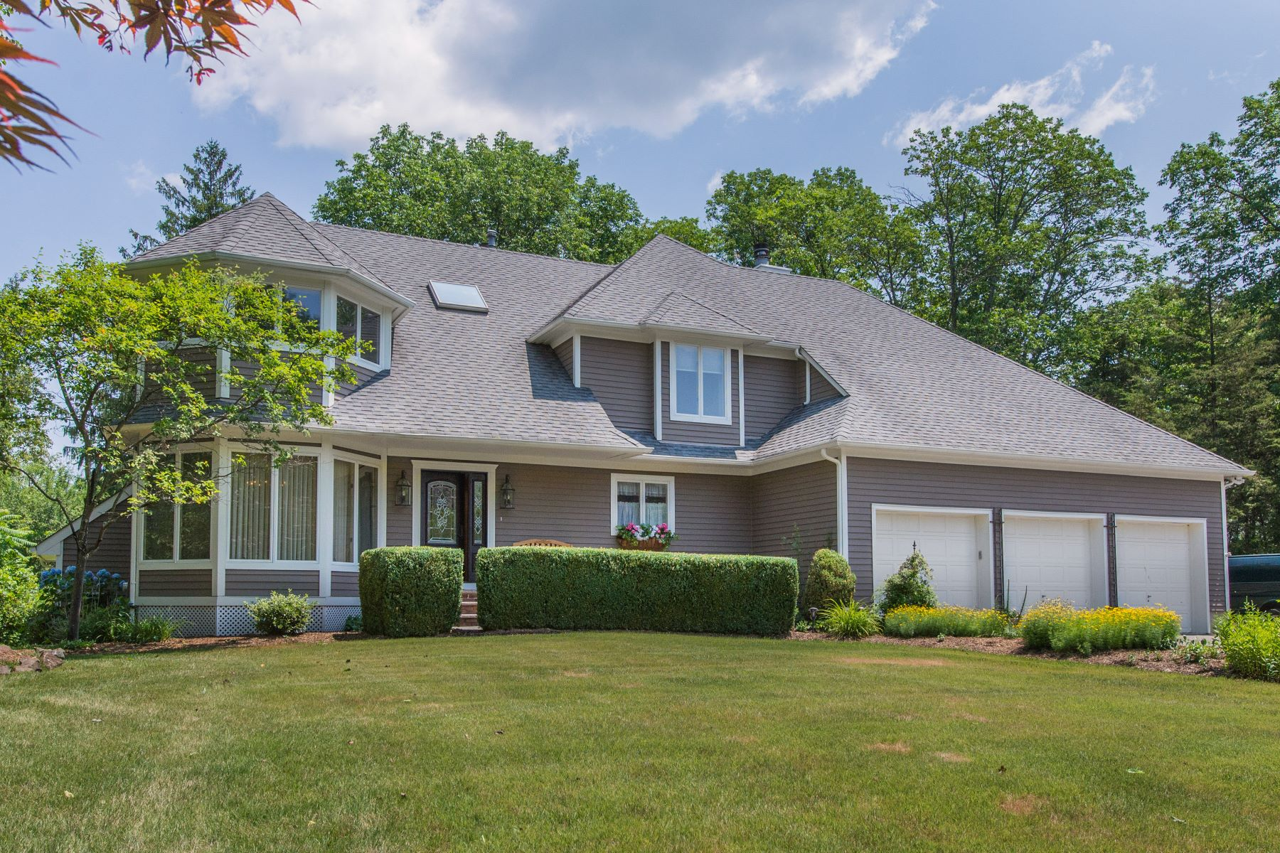 Single Family Homes for Active at Modern Hamptons Style Custom Colonial 5 Van Duyne Court Montville, New Jersey 07045 United States