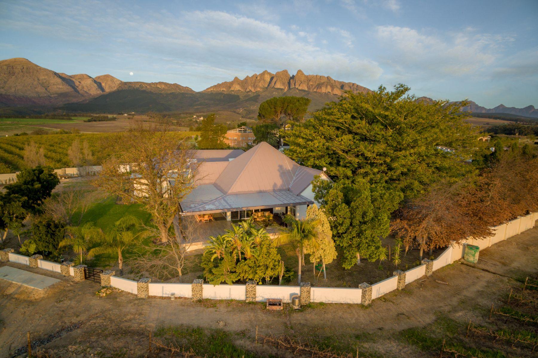 Granjas / Hacienda / Platanción por un Venta en Lifestyle farm in Wellington Paarl, Provincia Occidental Del Cabo 7655 Sudáfrica