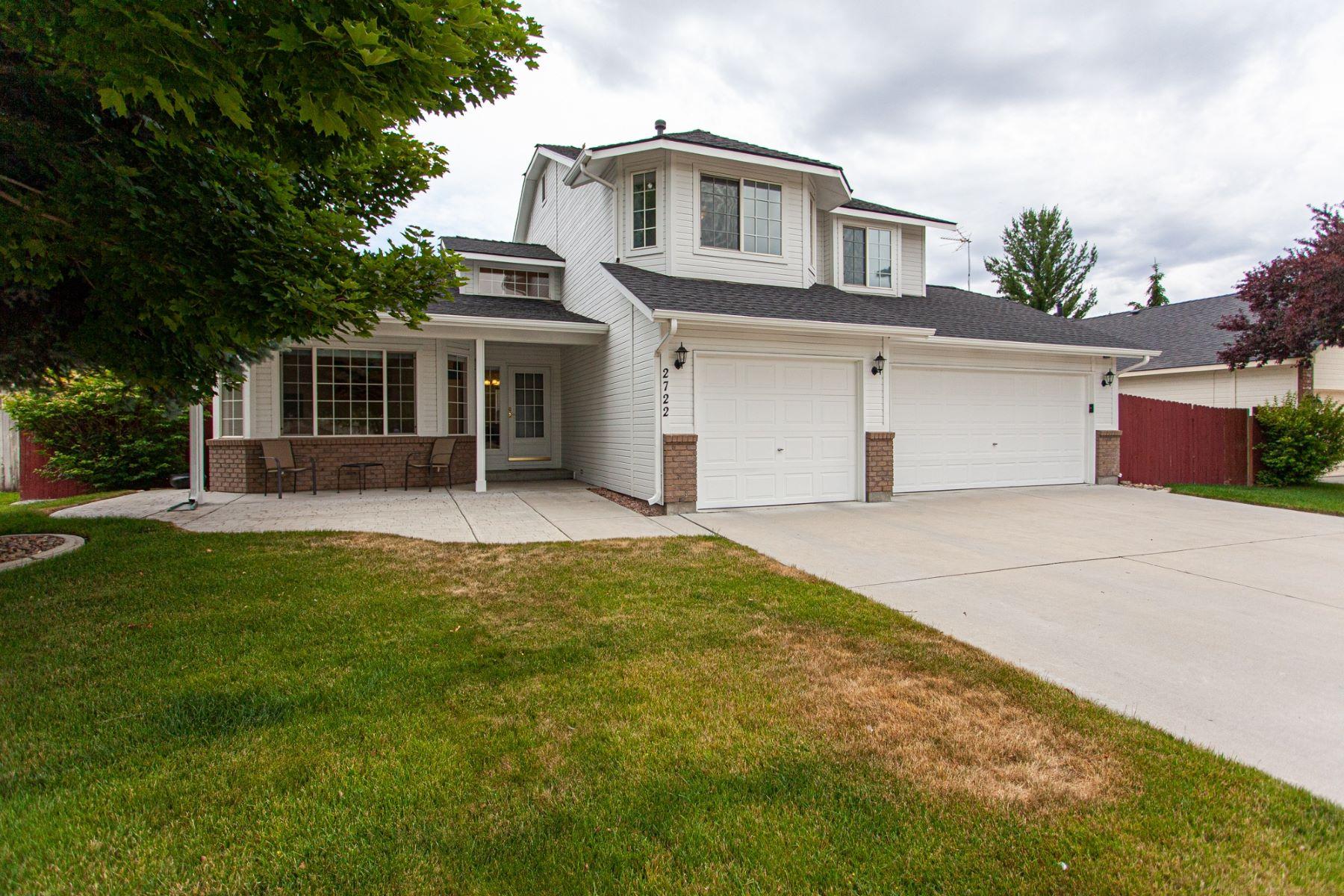 Single Family Homes pour l Vente à 2722 Snow Goose Way, Meridian 2722 N Snow Goose Way Meridian, Idaho 83646 États-Unis