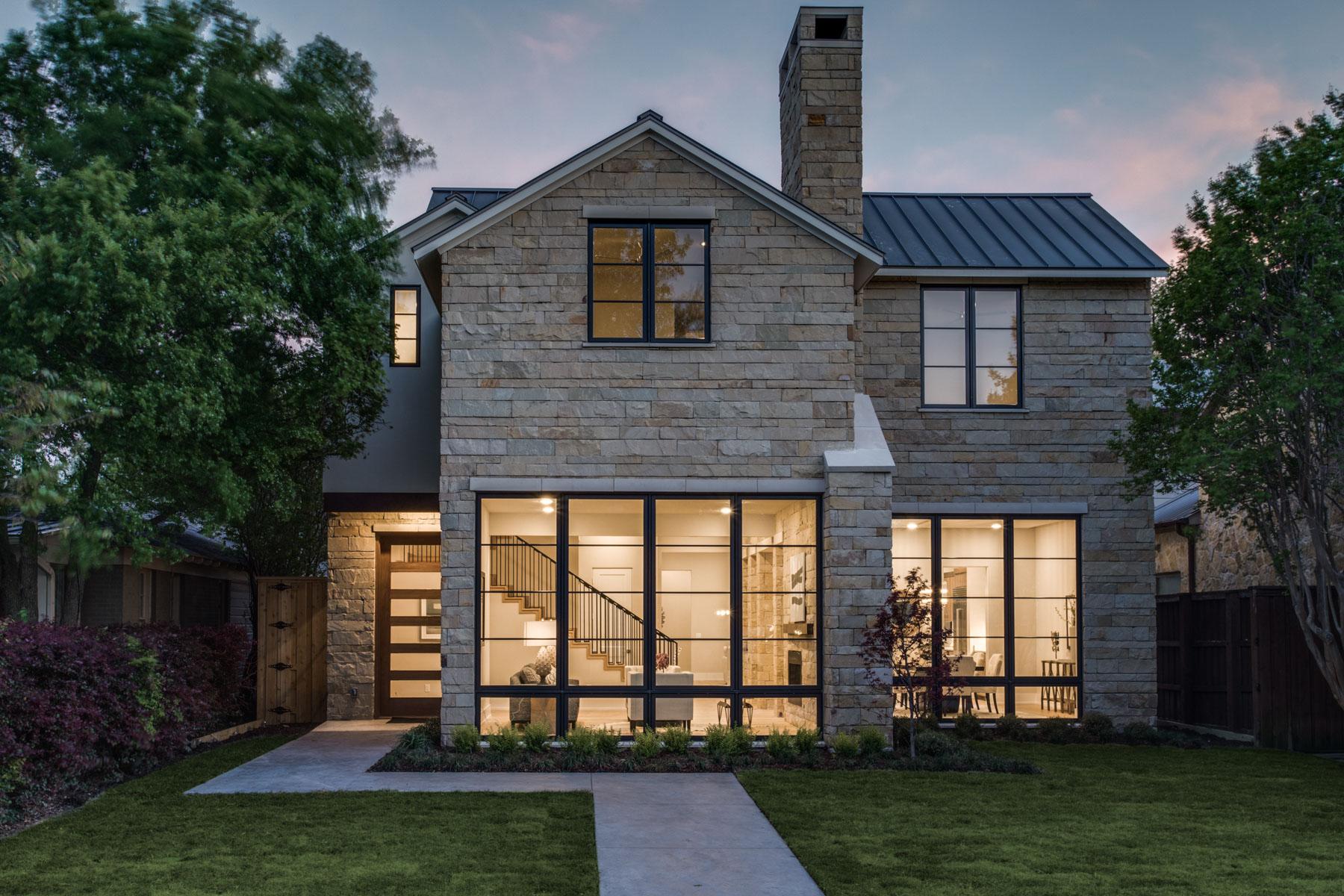 단독 가정 주택 용 매매 에 A Modern Classic in Devonshire 5646 W. Hanover Avenue, Dallas, 텍사스, 75209 미국