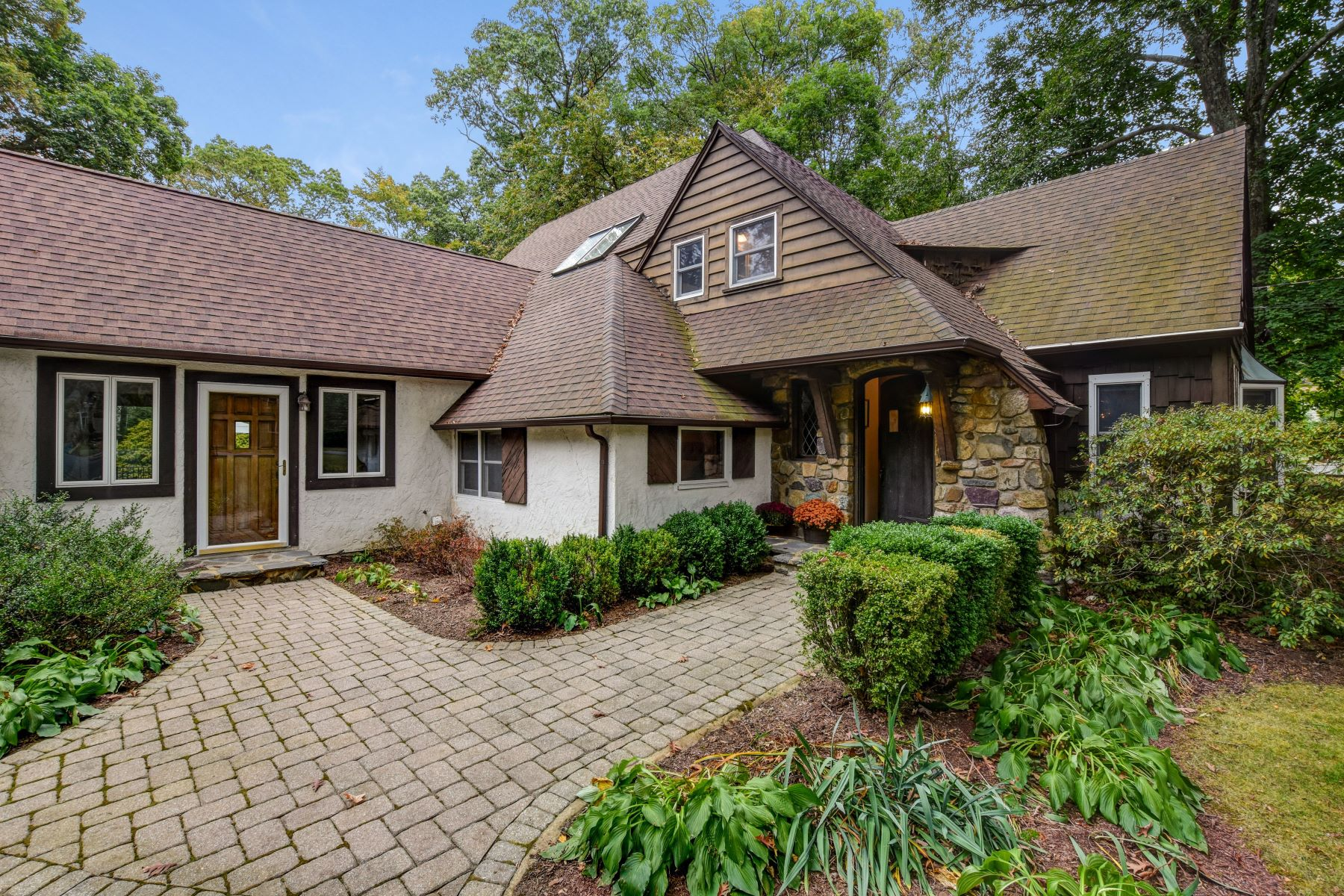 Single Family Homes for Sale at Charming Custom Tudor 24 Old Wood Road Morris Plains, New Jersey 07950 United States