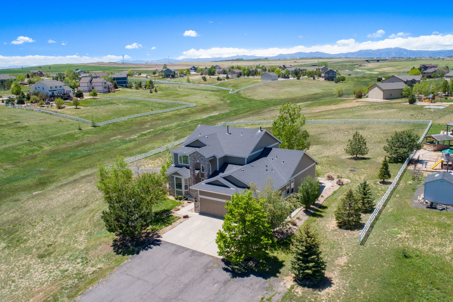 Single Family Homes for Sale at The Quiet Country Setting You've Always Dreamed Of! 8700 Ehler Parkway Thornton, Colorado 80602 United States