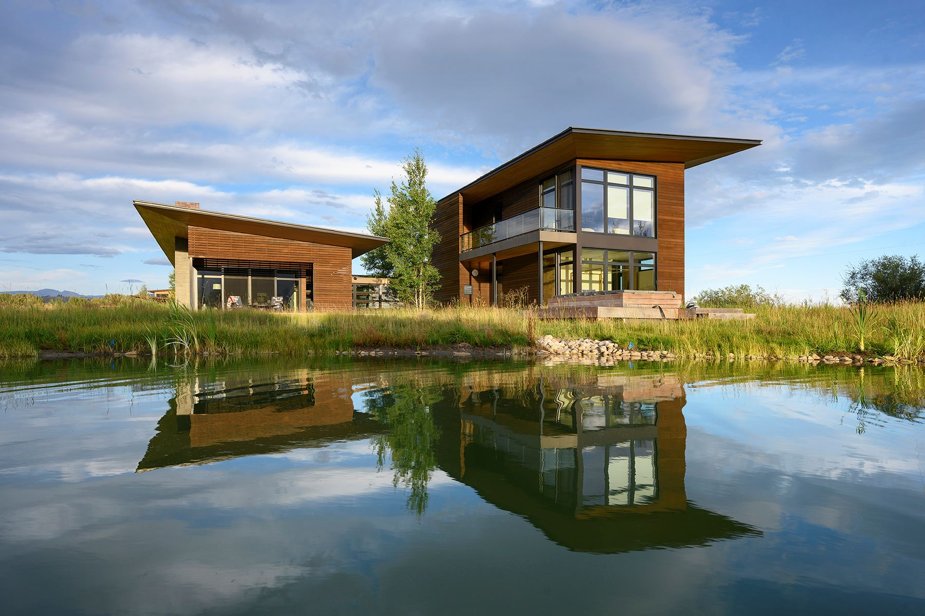 Single Family Homes for Sale at A Modern Home in the Western Vernacular 5050 Shoshone Dr Wilson, Wyoming 83014 United States