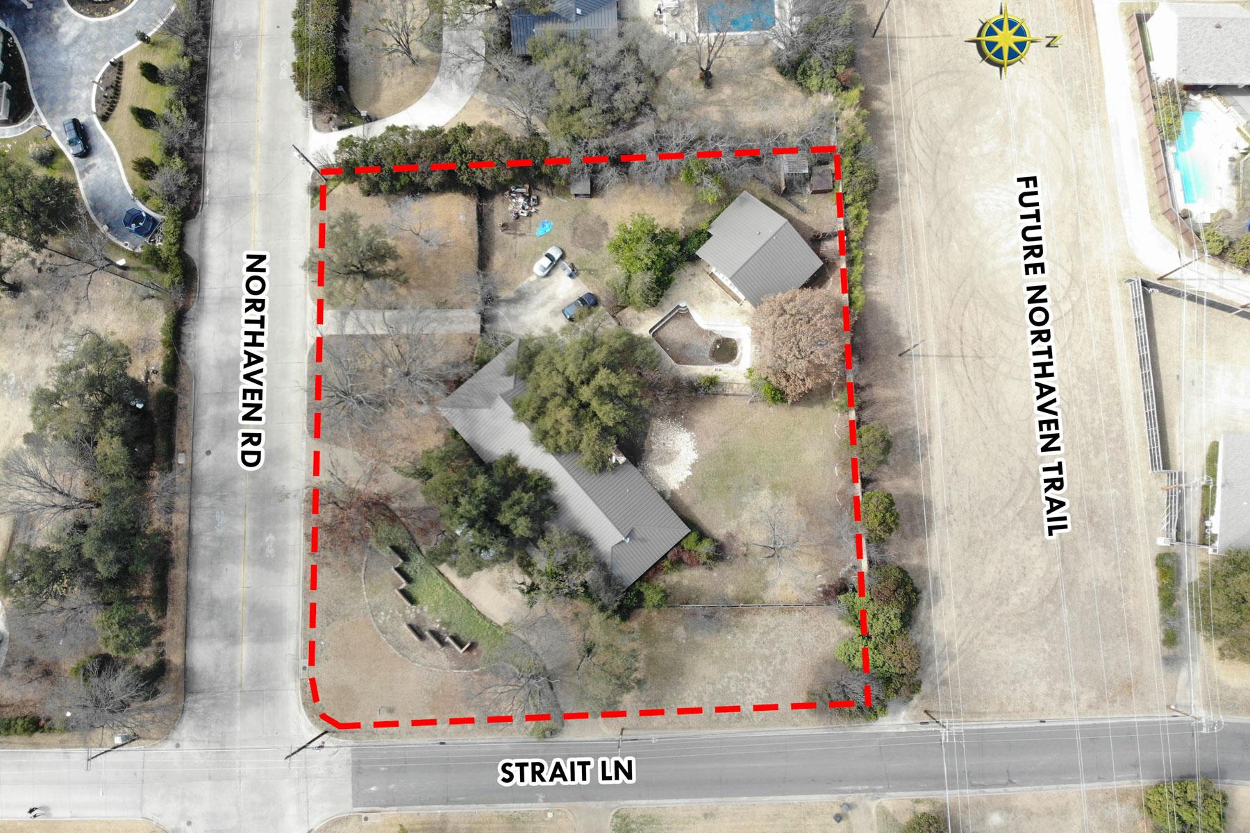 أراضي للـ Sale في 1.02 Acre Lot 11301 Strait Lane, Dallas, Texas, 75229 United States