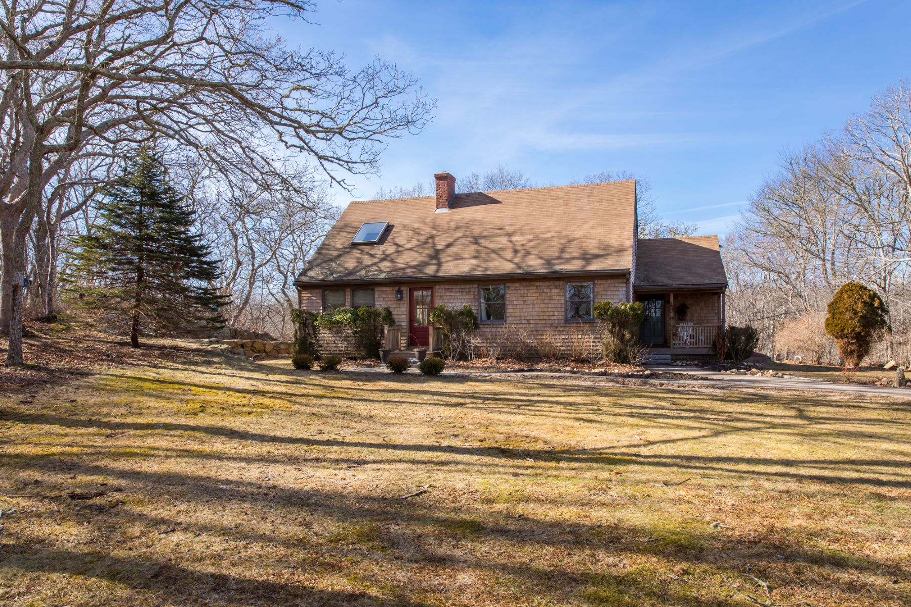 Single Family Home for Sale at On Glimmerglass Pond in West Tisbury 43 Tiasquam Road West Tisbury, 02575 United States