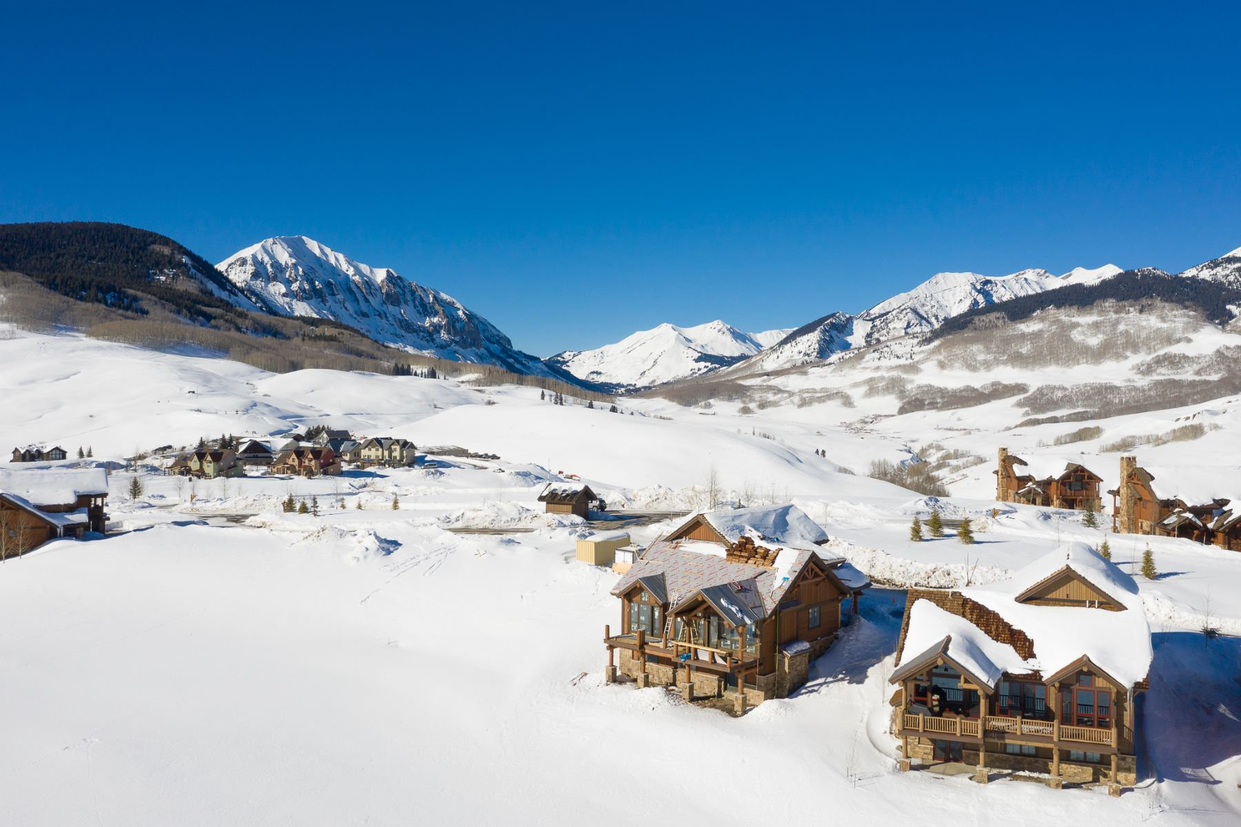 Single Family Homes for Sale at Wildhorse at Prospect 14 Appaloosa Road Mount Crested Butte, Colorado 81225 United States