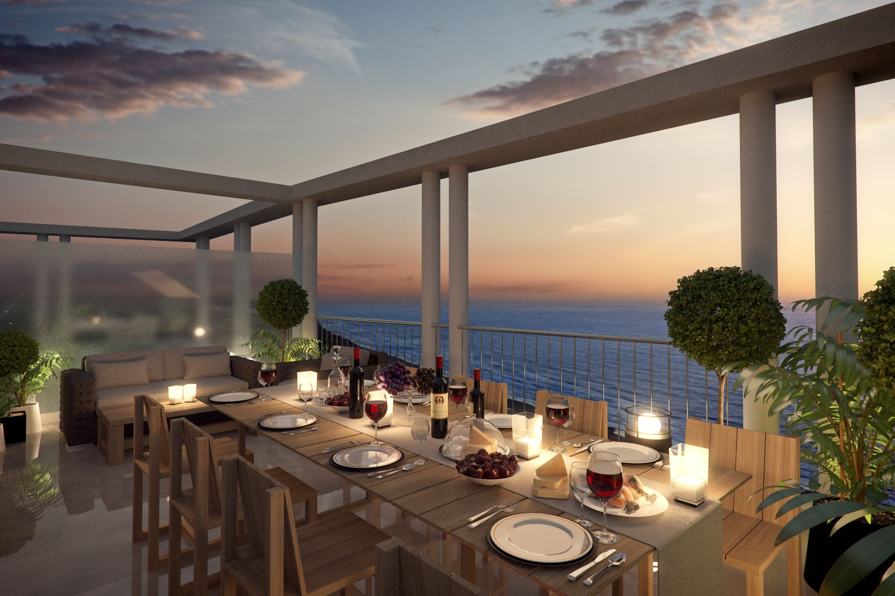 Additional photo for property listing at Mini Penthouse with Tremendous Sea Views Tel Aviv, Israel Israel