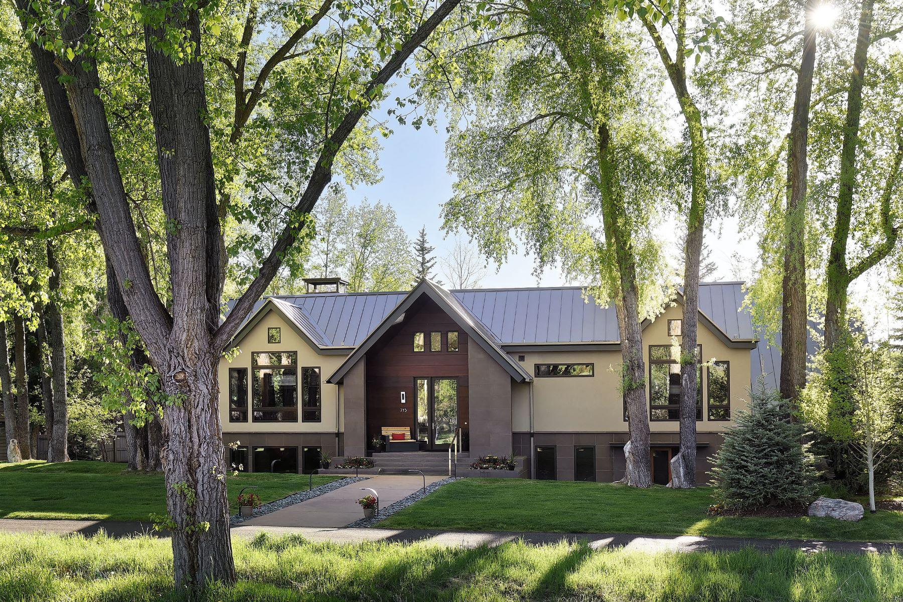 Einfamilienhaus für Verkauf beim Contemporary Home next to the world-renowned Aspen Meadows Resort 715 Meadows Road Aspen, Colorado 81611 Vereinigte Staaten