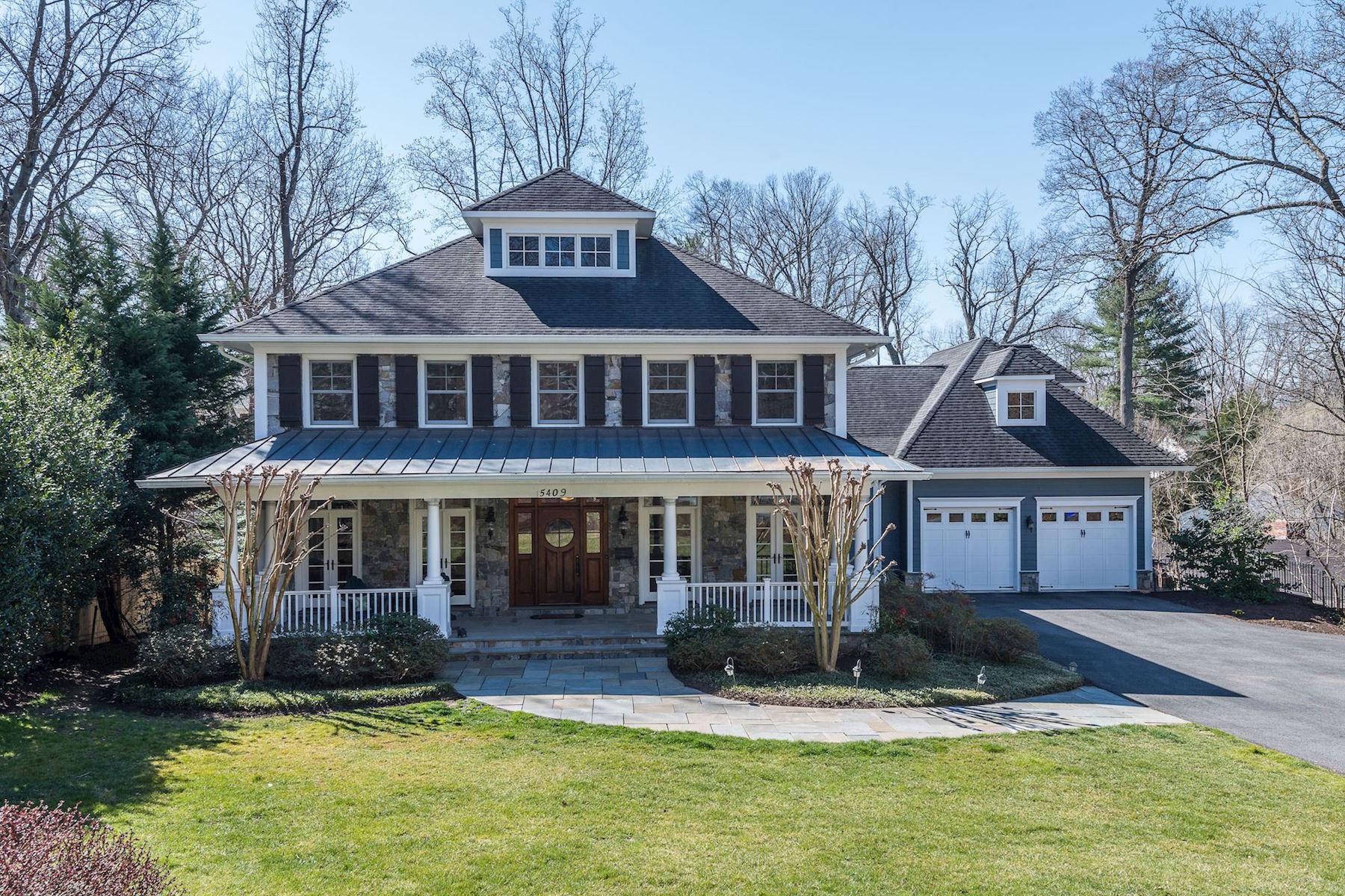 一戸建て のために 売買 アット Bethesda's Best Half Acre 5409 Tuscarawas Rd Bethesda, メリーランド, 20816 アメリカ合衆国