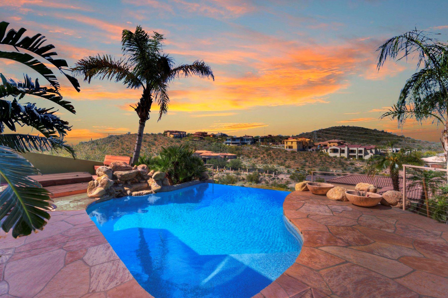 Single Family Homes por un Venta en Thunderbird Vistas 6139 W ALAMEDA RD Glendale, Arizona 85310 Estados Unidos