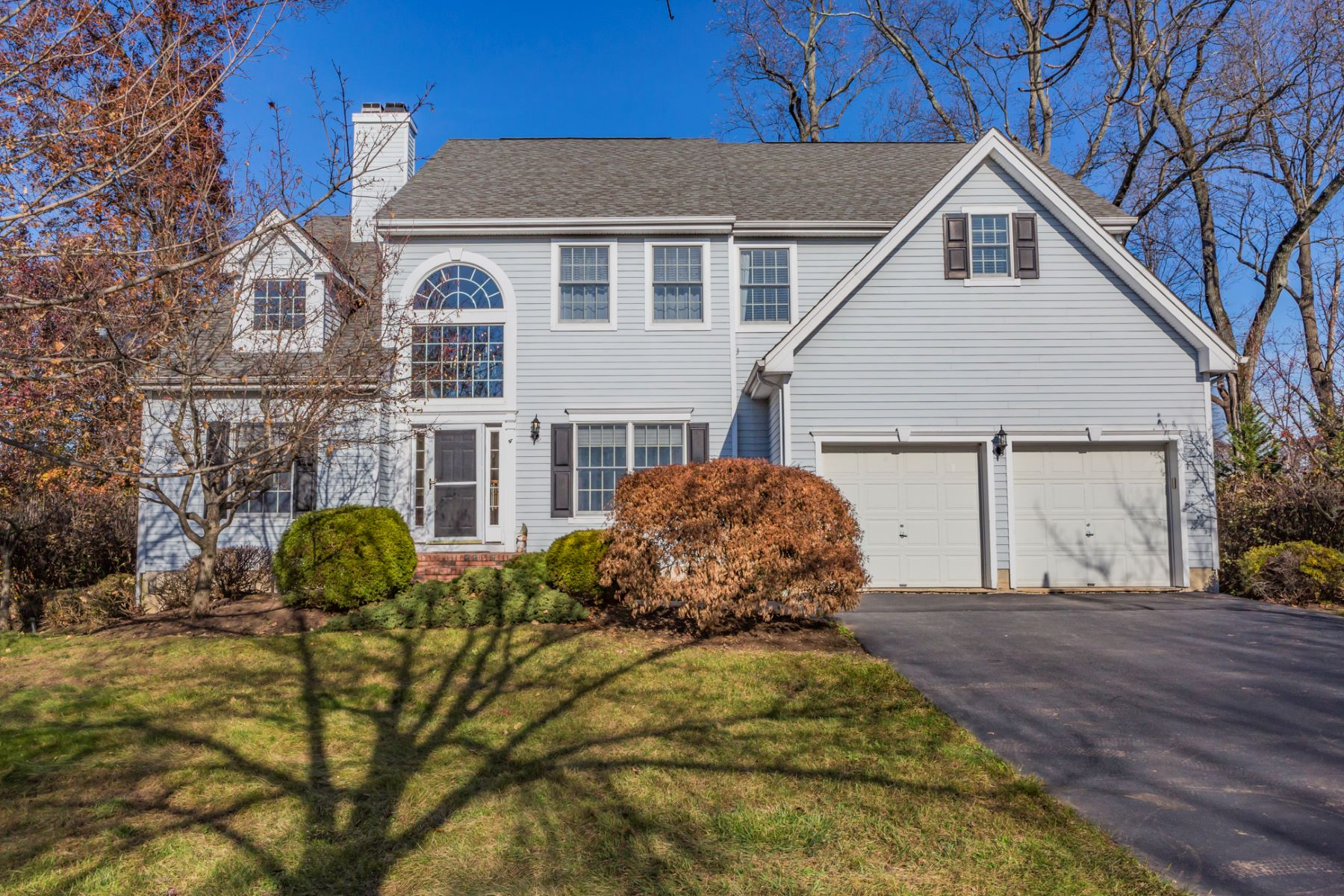 Single Family Home for Rent at Sun Filled Rental Nestled in Cherry Valley 4 Interlacken Court, Skillman, New Jersey 08558 United StatesMunicipality: Montgomery Township