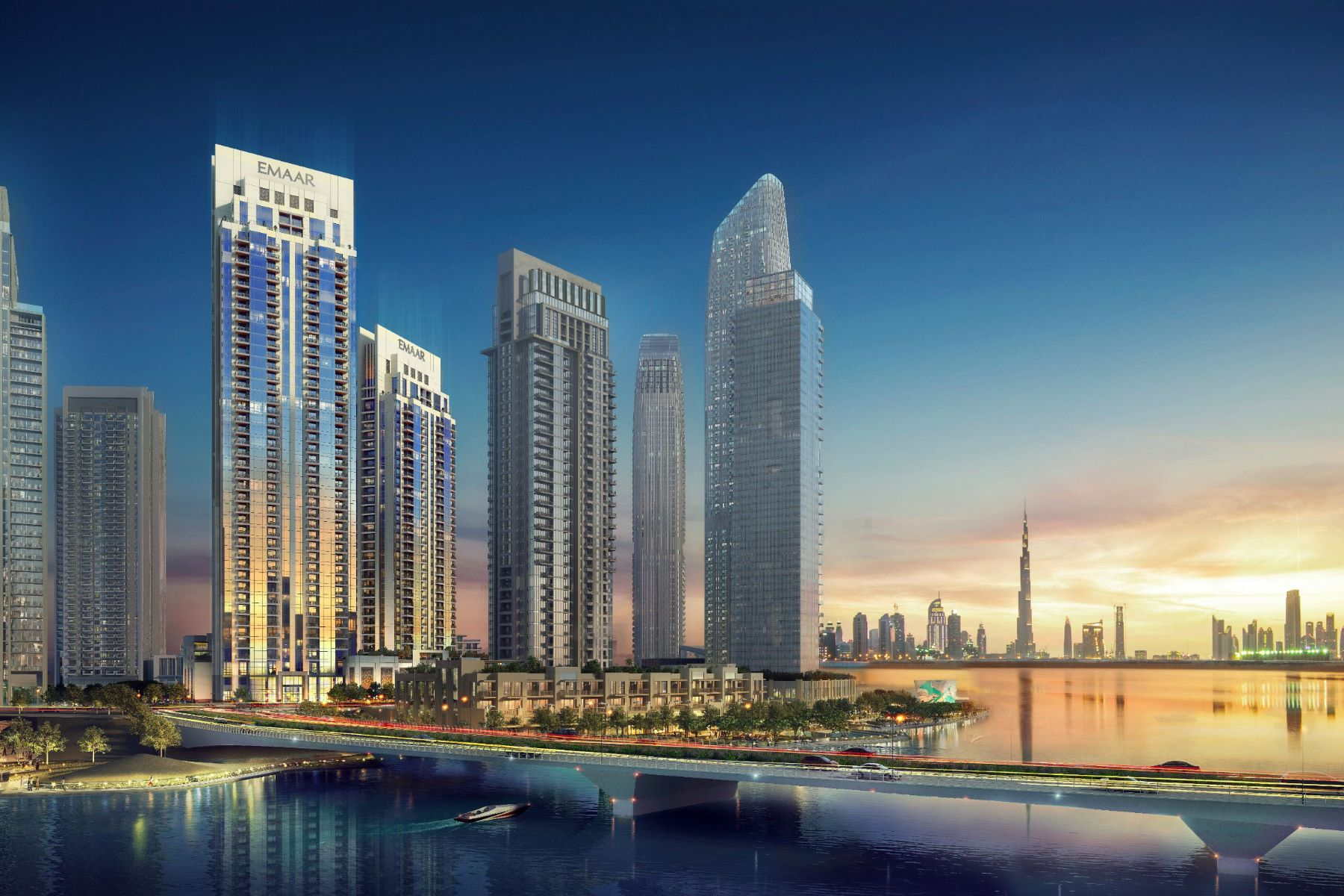 Apartments for Sale at Creek Rise by Dubai's Emaar Properties Creek Rise Dubai, Dubai 00000 United Arab Emirates