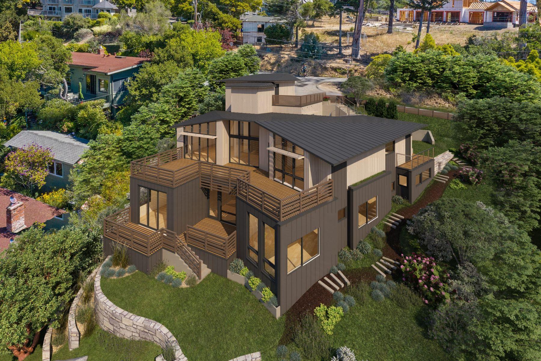 Single Family Homes pour l Vente à Mill Valley Modern Masterpiece 315 Tamalpais Avenue, Mill Valley, Californie 94941 États-Unis