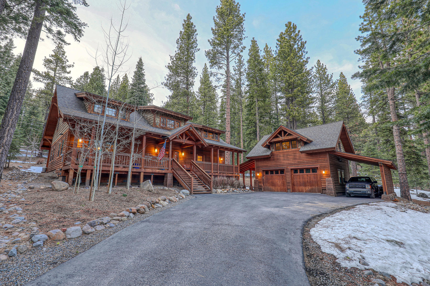 Single Family Homes for Active at Pine Forest Retreat 12690 Granite Drive Truckee, California 96161 United States
