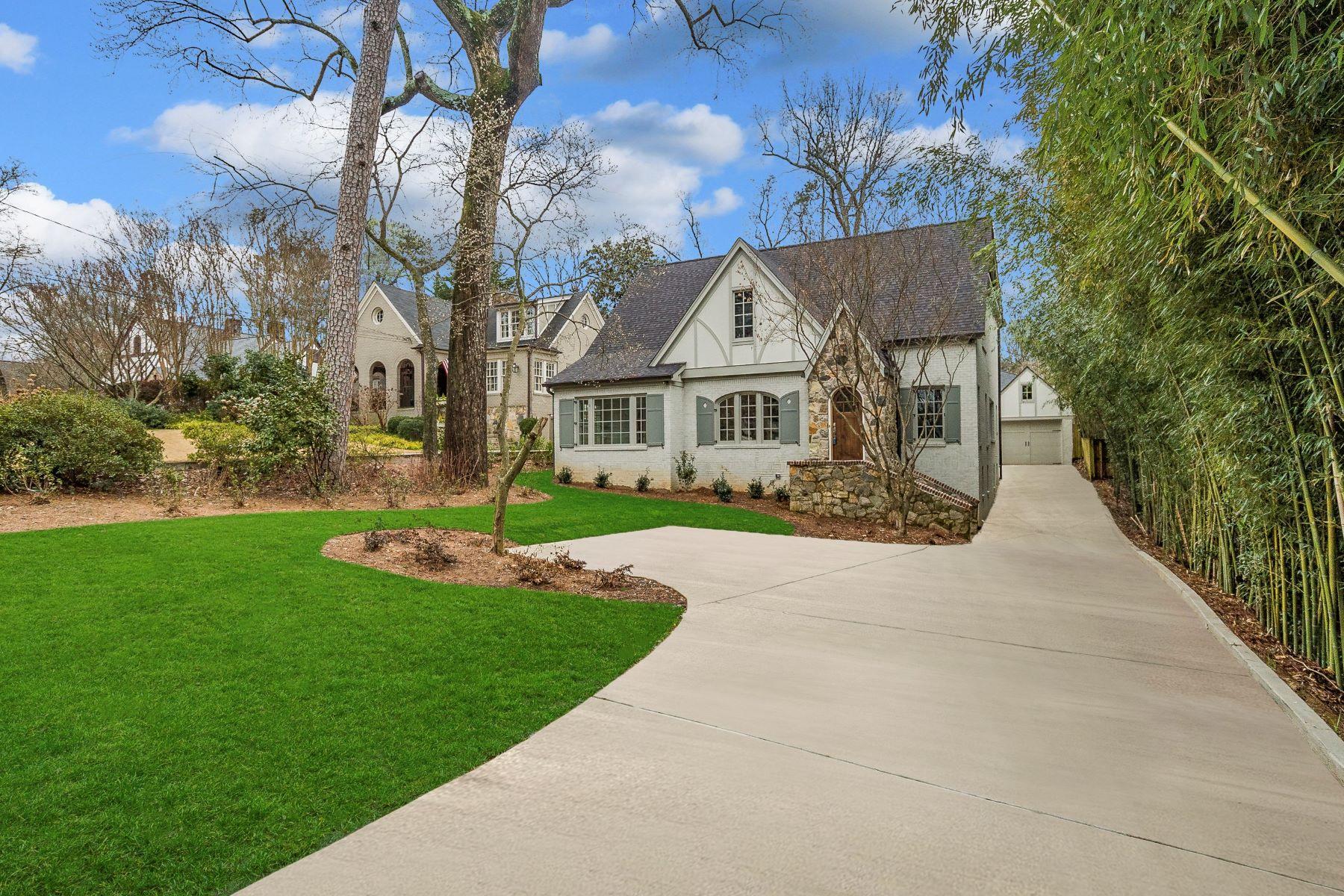 Single Family Home for Sale at Total Renovation Of A Classic Morningside Tudor 893 East Rock Springs Rd Atlanta, Georgia 30306 United States