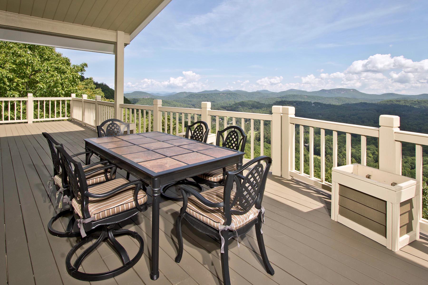 Частный односемейный дом для того Продажа на 289 Upper Brushy Face Highlands, Северная Каролина, 28741 Соединенные Штаты