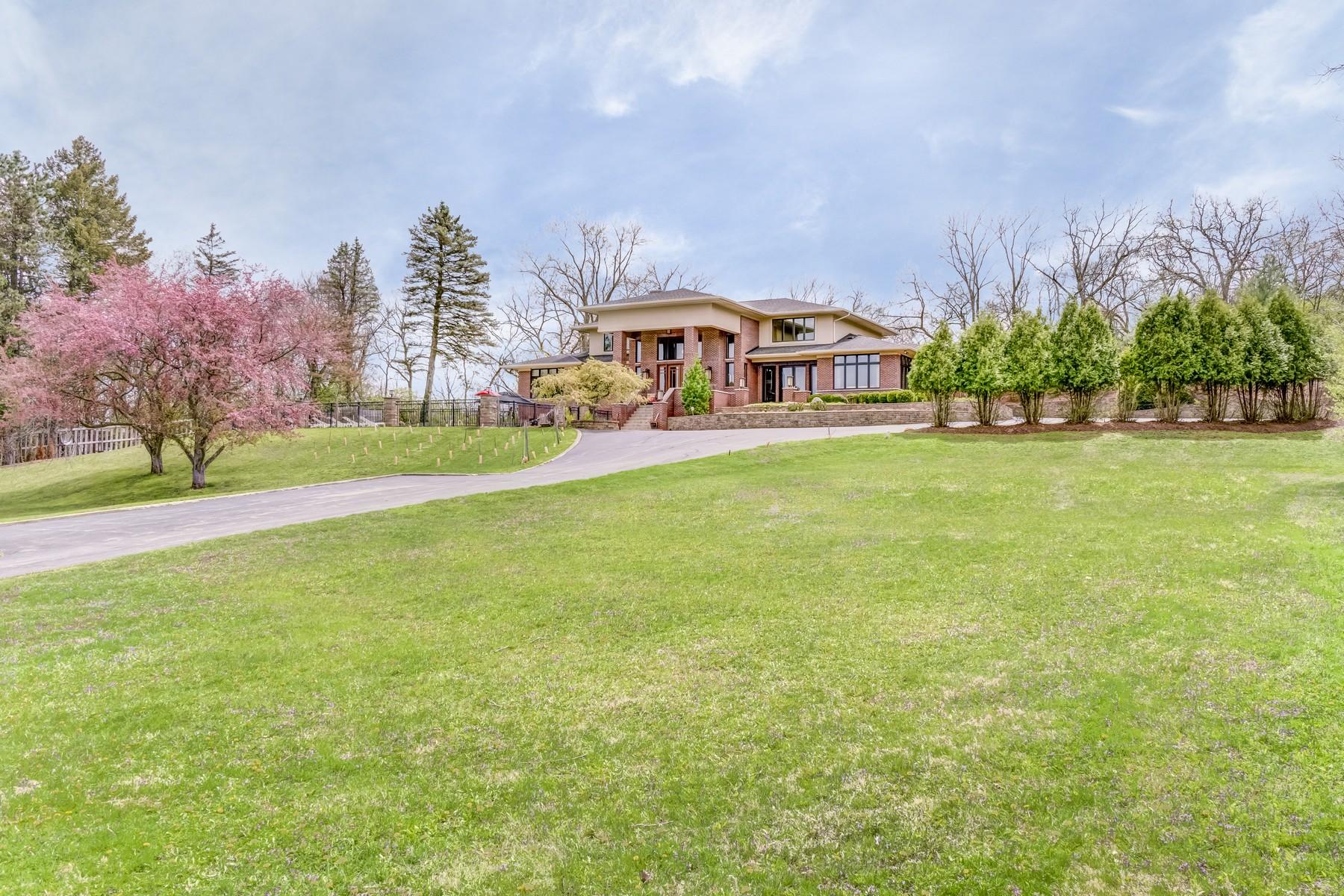 Vivienda unifamiliar por un Venta en Private Tranquil Sanctuary 5809 E Hillside Road Crystal Lake, Illinois, 60012 Estados Unidos