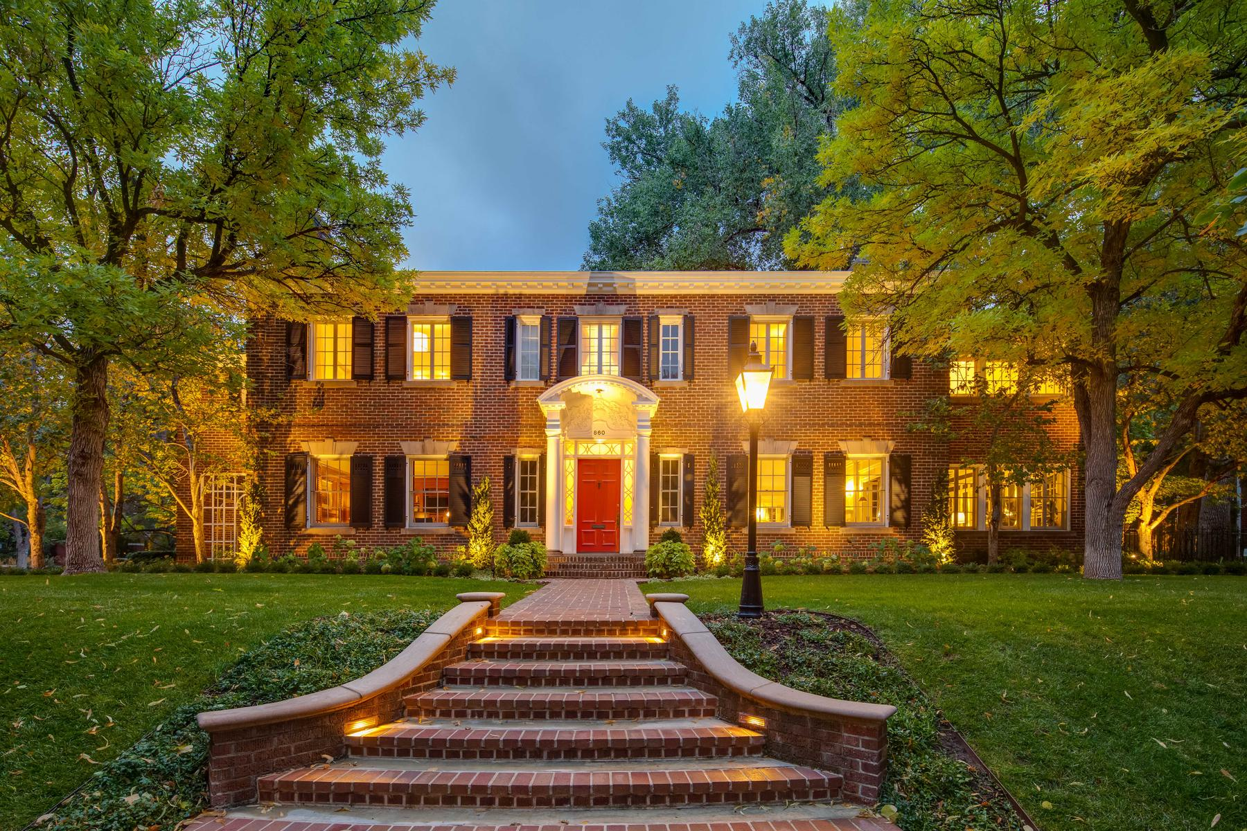 Property for Active at Elegant Georgian Estate 860 Vine St Denver, Colorado 80206 United States