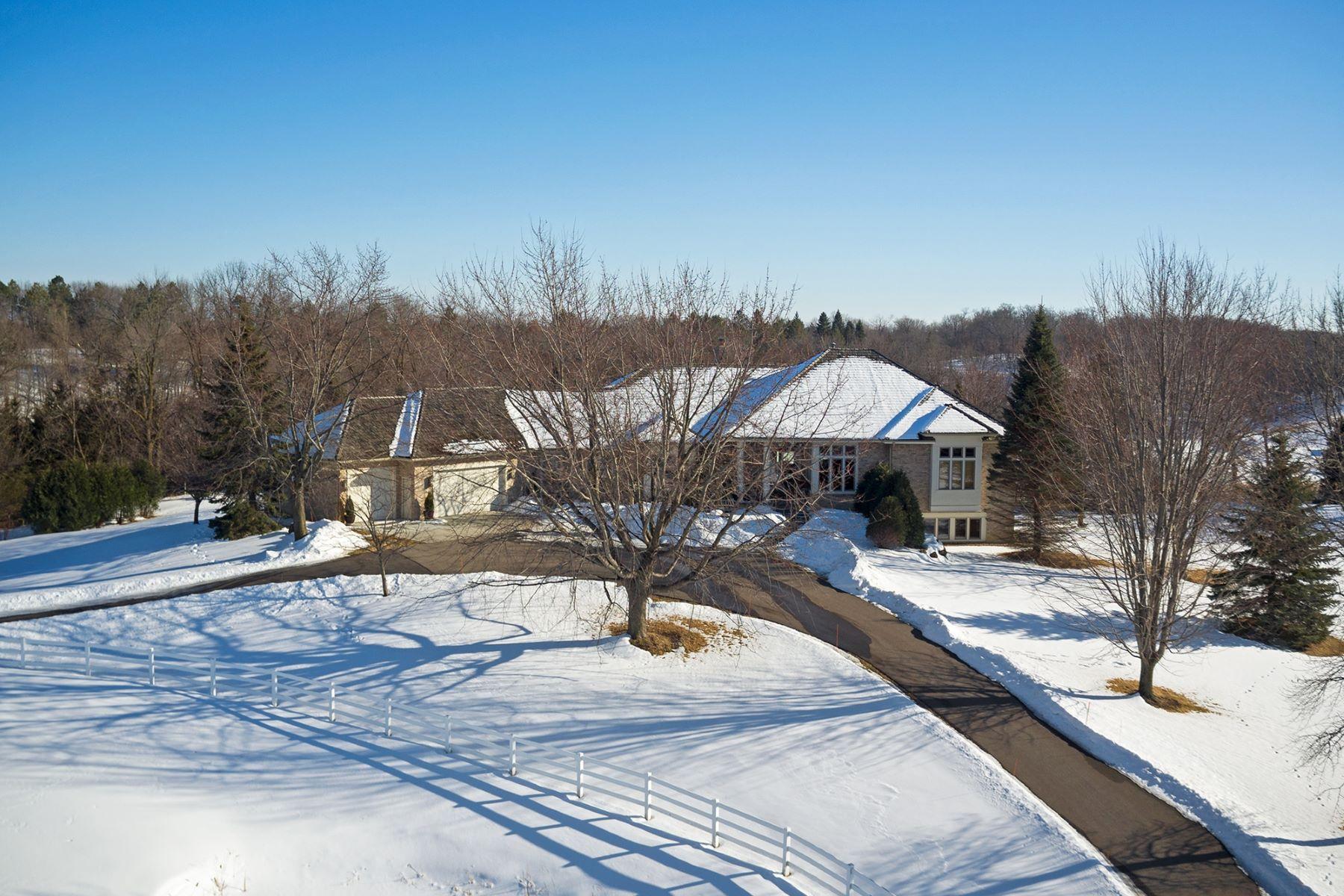 واحد منزل الأسرة للـ Sale في 7405 Fielding Trail Minnetrista, Minnesota, 55535 United States