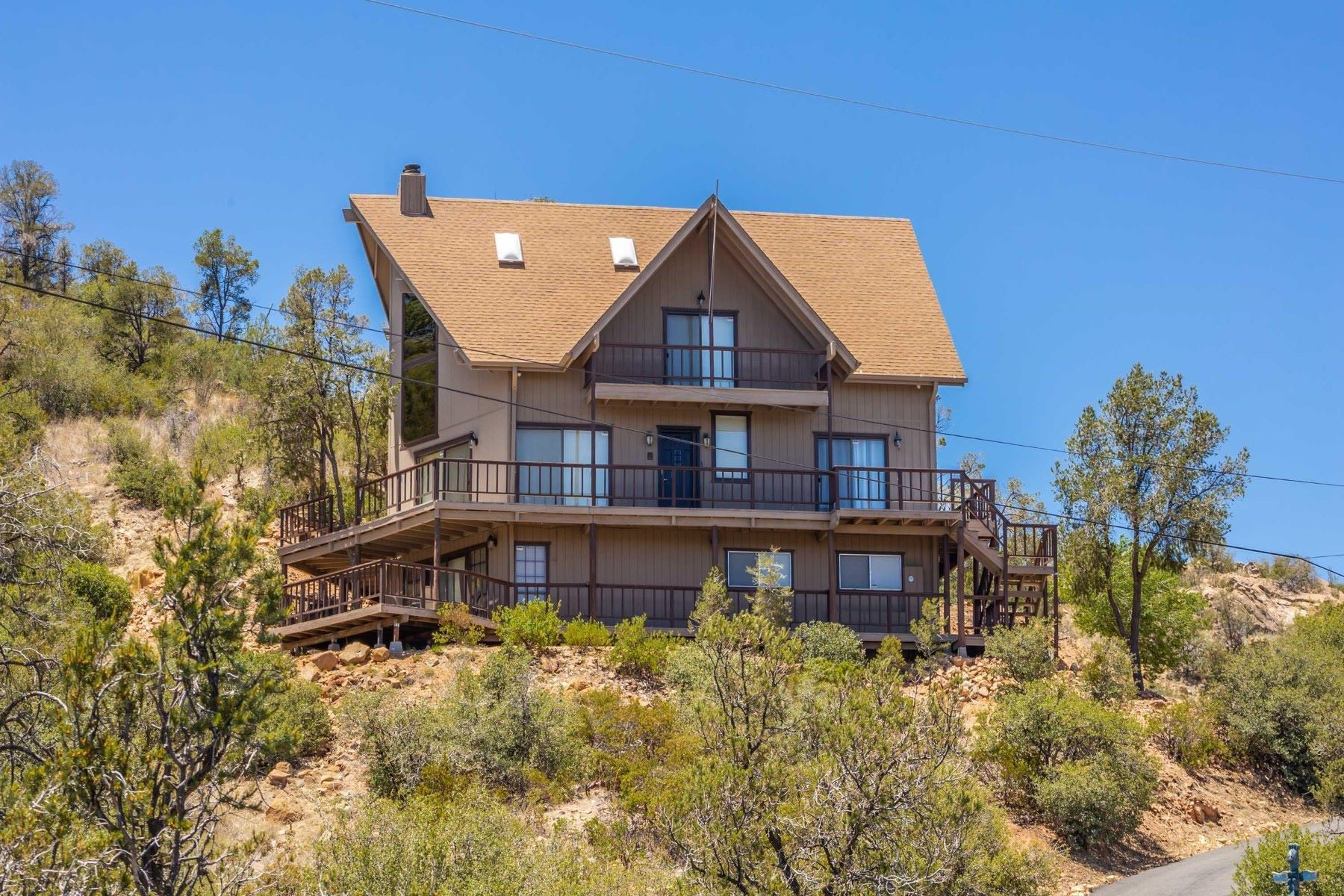 Single Family Homes for Sale at Custom Built Home 2660 N Country Park Drive Prescott, Arizona 86305 United States