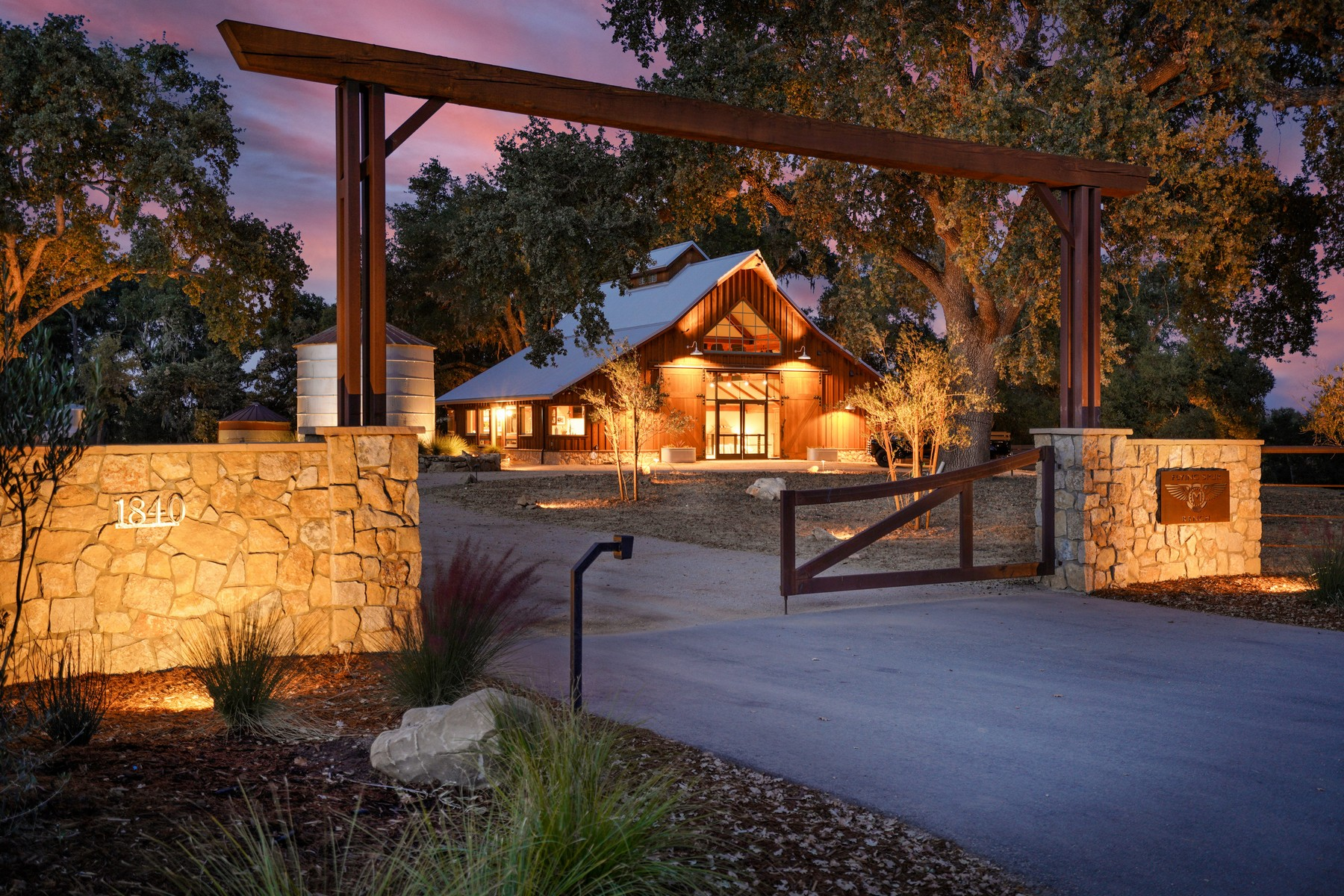 Single Family Homes for Sale at Luxury Wine Country Ranch 1840 Santa Rita Rd. Templeton, California 93465 United States