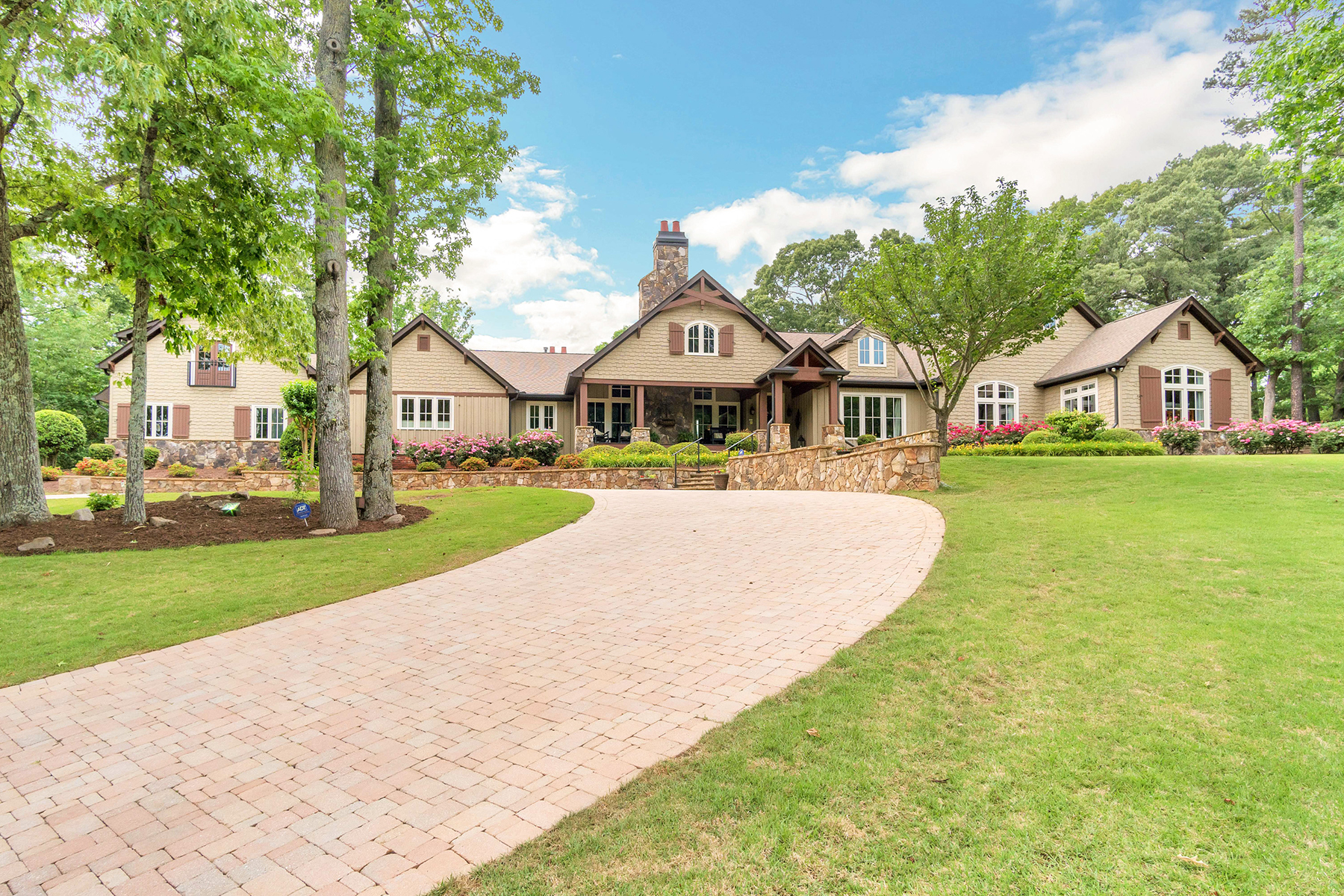 Farm / Ranch / Plantation for Sale at Stunning, Completely Renovated, Private, and Gated 10 Acre Equestrian Estate! 3961 Sloan Mill Road Gainesville, Georgia 30507 United States
