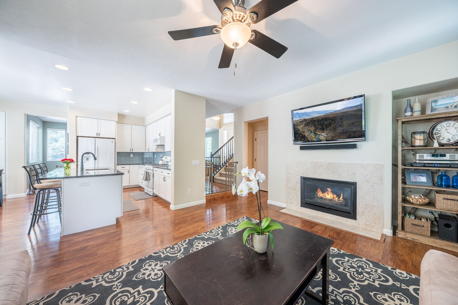 Single Family Homes for Active at Completely Remodeled Two Story 4456 Kings Peak Cir. Sparks, Nevada 89436 United States