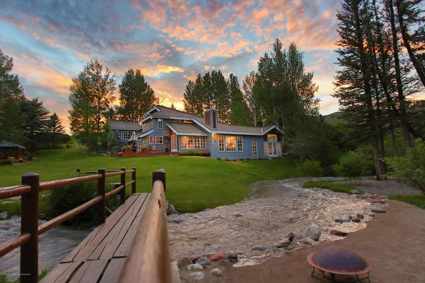 Single Family Homes for Active at Capitol and Elk Creek 7035 E Sopris Creek Snowmass, Colorado 81654 United States