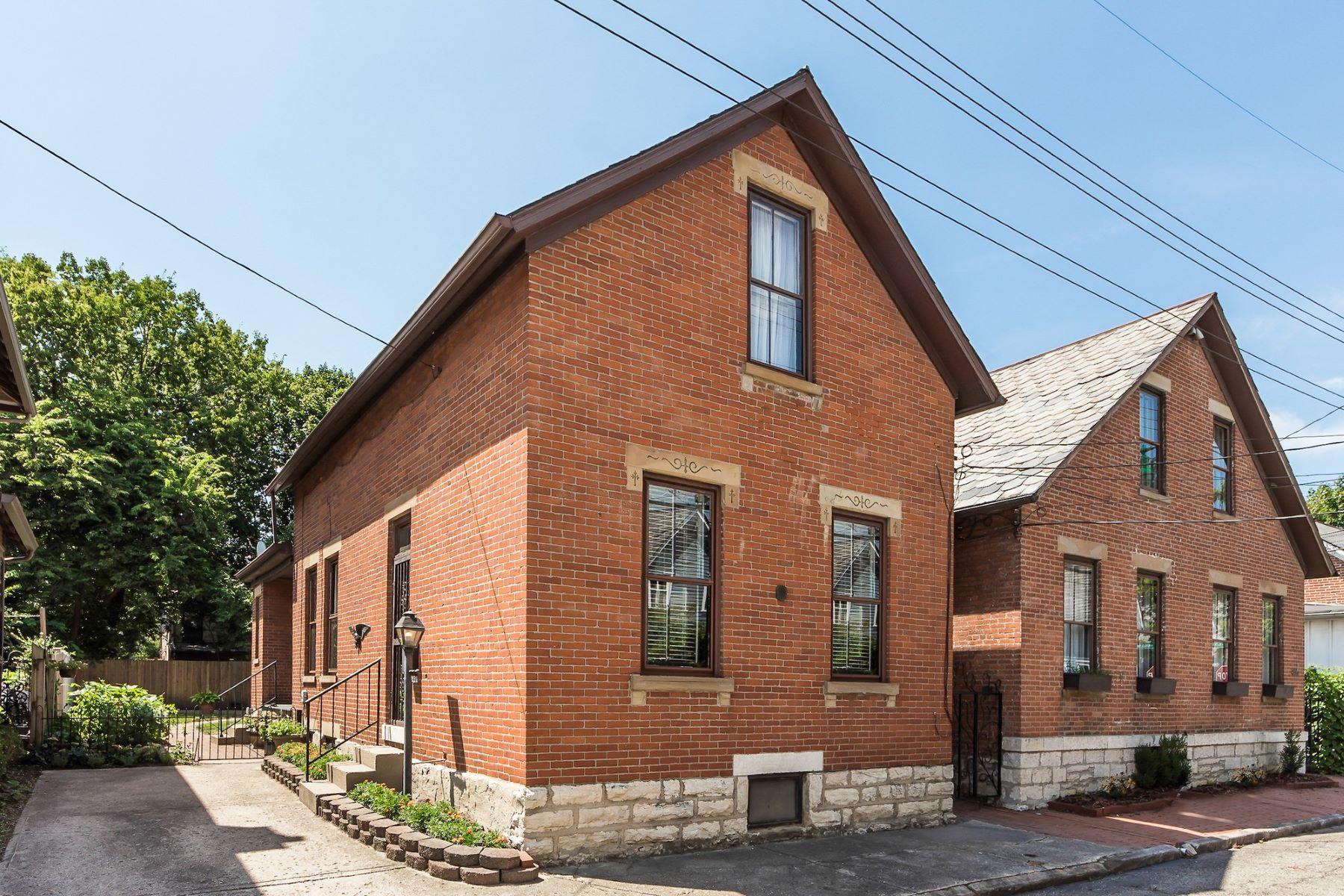 واحد منزل الأسرة للـ Sale في 831 S Lazelle St German Village, Columbus, Ohio, 43206 United States