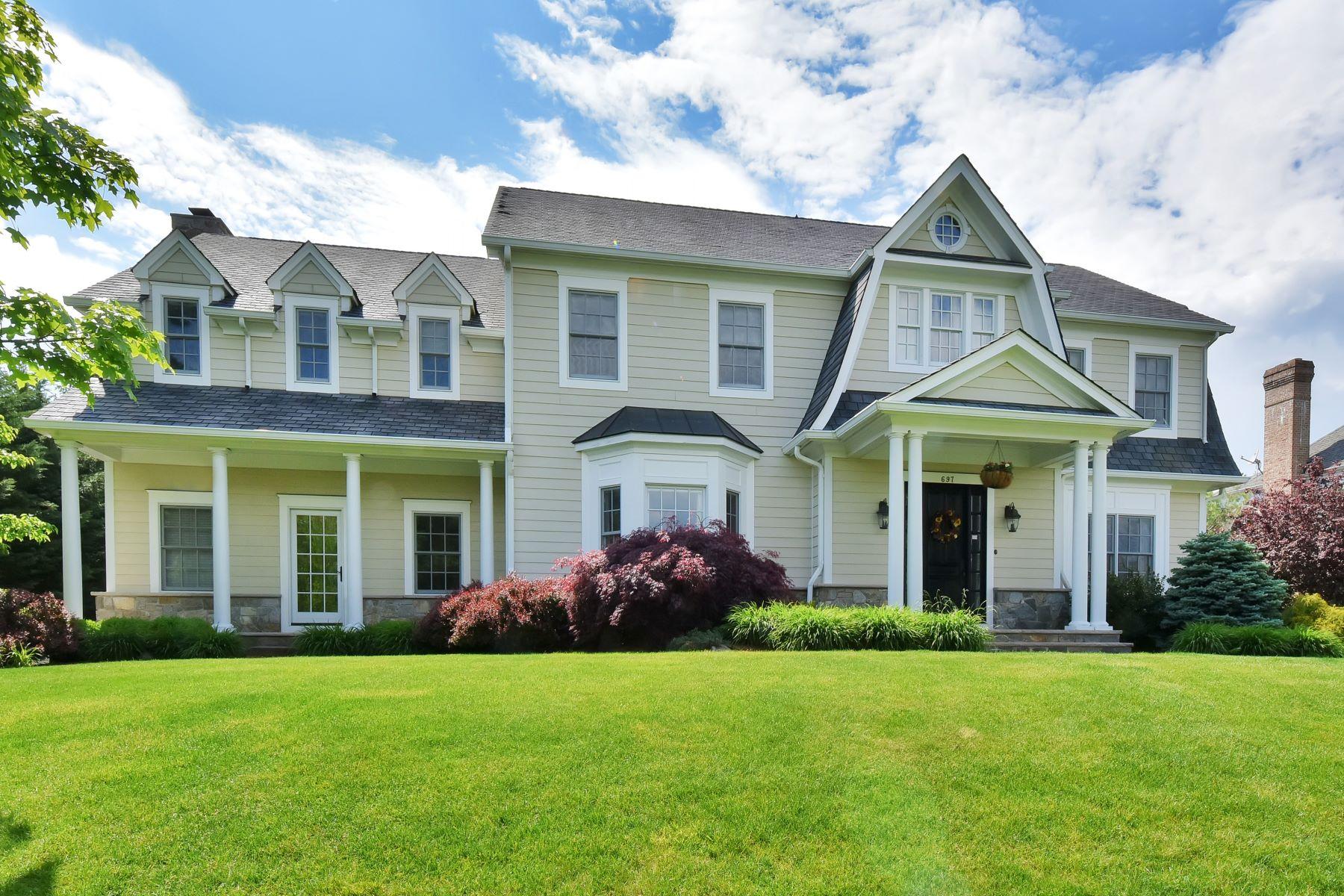 Частный односемейный дом для того Продажа на Sicomac Premier Willow Pond Estates 697 Charnwood Drive Wyckoff, Нью-Джерси 07481 Соединенные Штаты