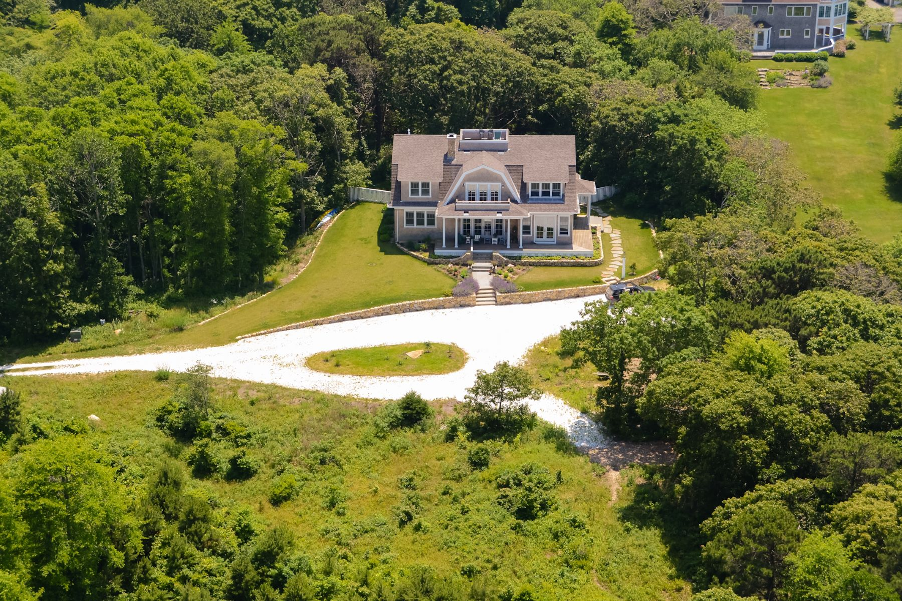 Single Family Homes for Active at 8.6 Acre Estate with Private Association Beaches 94 Norton Farm Road West Tisbury, Massachusetts 02575 United States