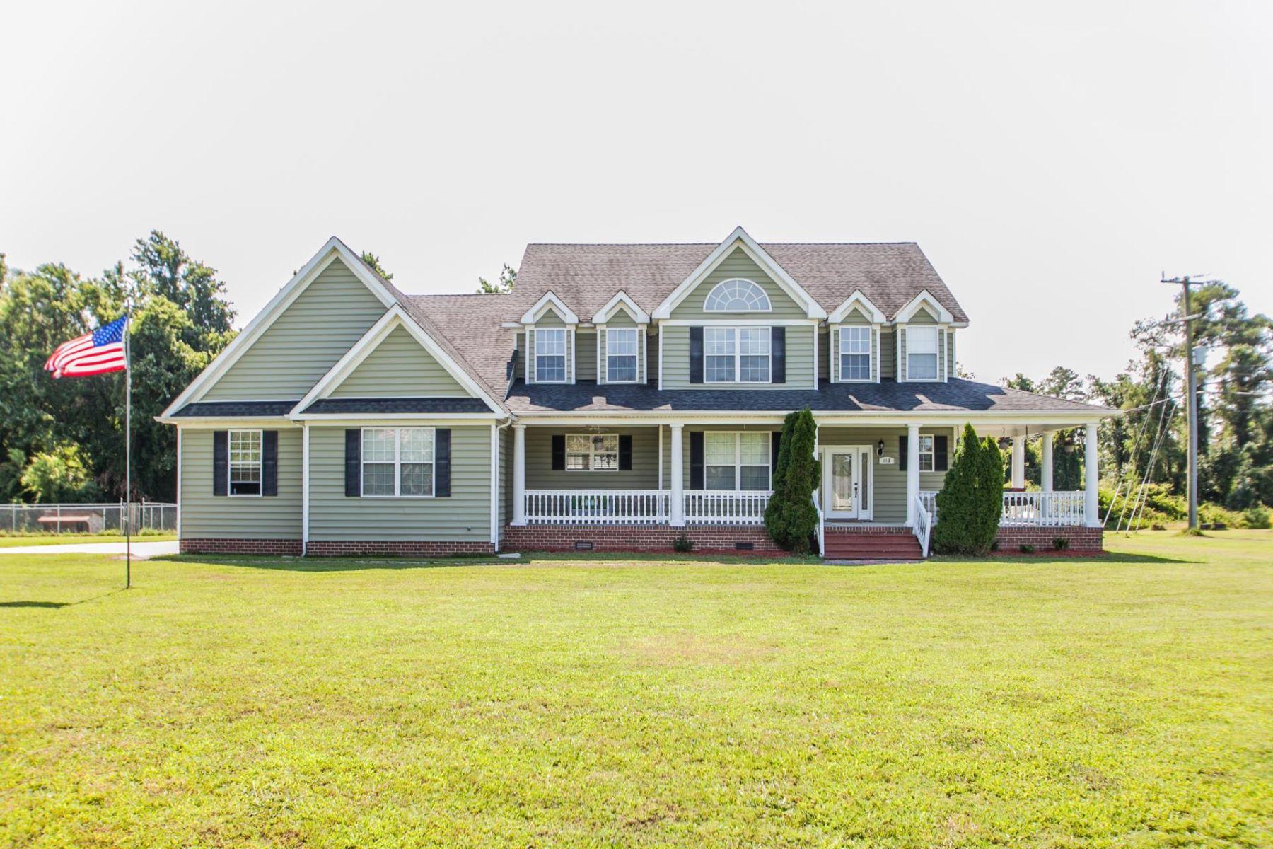 Частный односемейный дом для того Продажа на Martin Subdivision 112 Martin Lane Knotts Island, Северная Каролина 27950 Соединенные Штаты
