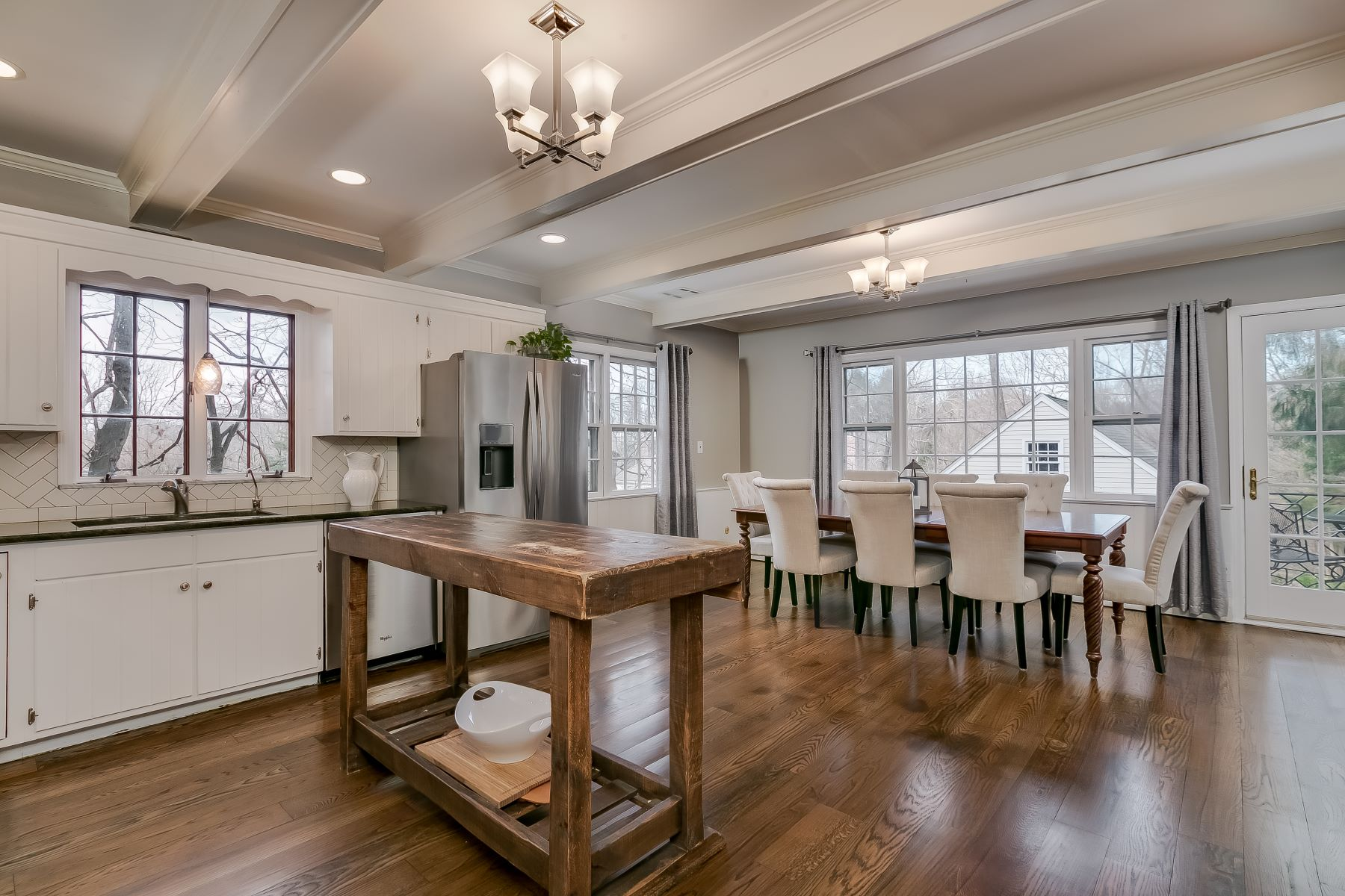 Single Family Homes for Sale at Re-imagining traditional as country modern 81 West Main Street Mendham Borough, New Jersey 07945 United States