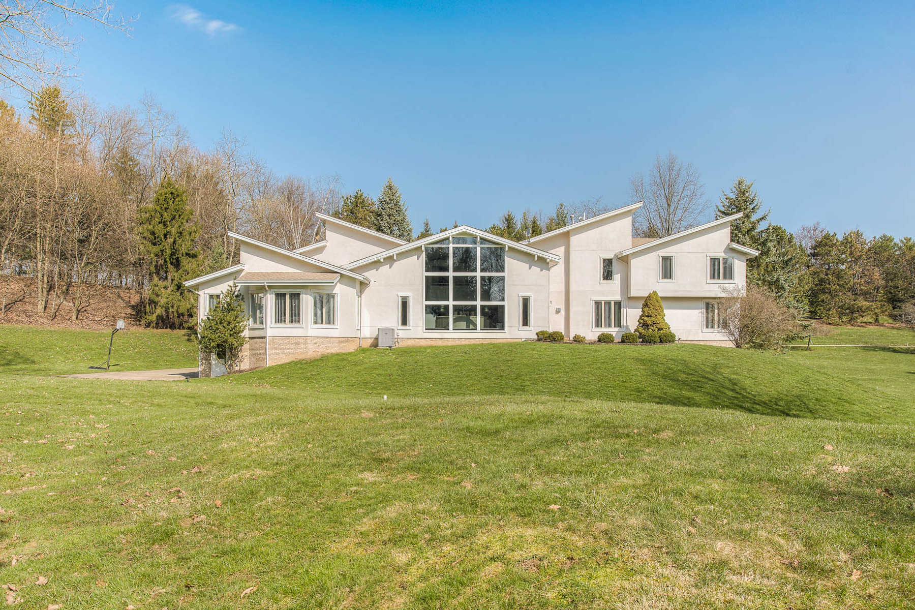 Single Family Homes for Sale at Contemporary Style and Class in Sewickley Heights 102 Fair Acres Drive, Sewickley, Pennsylvania 15143 United States