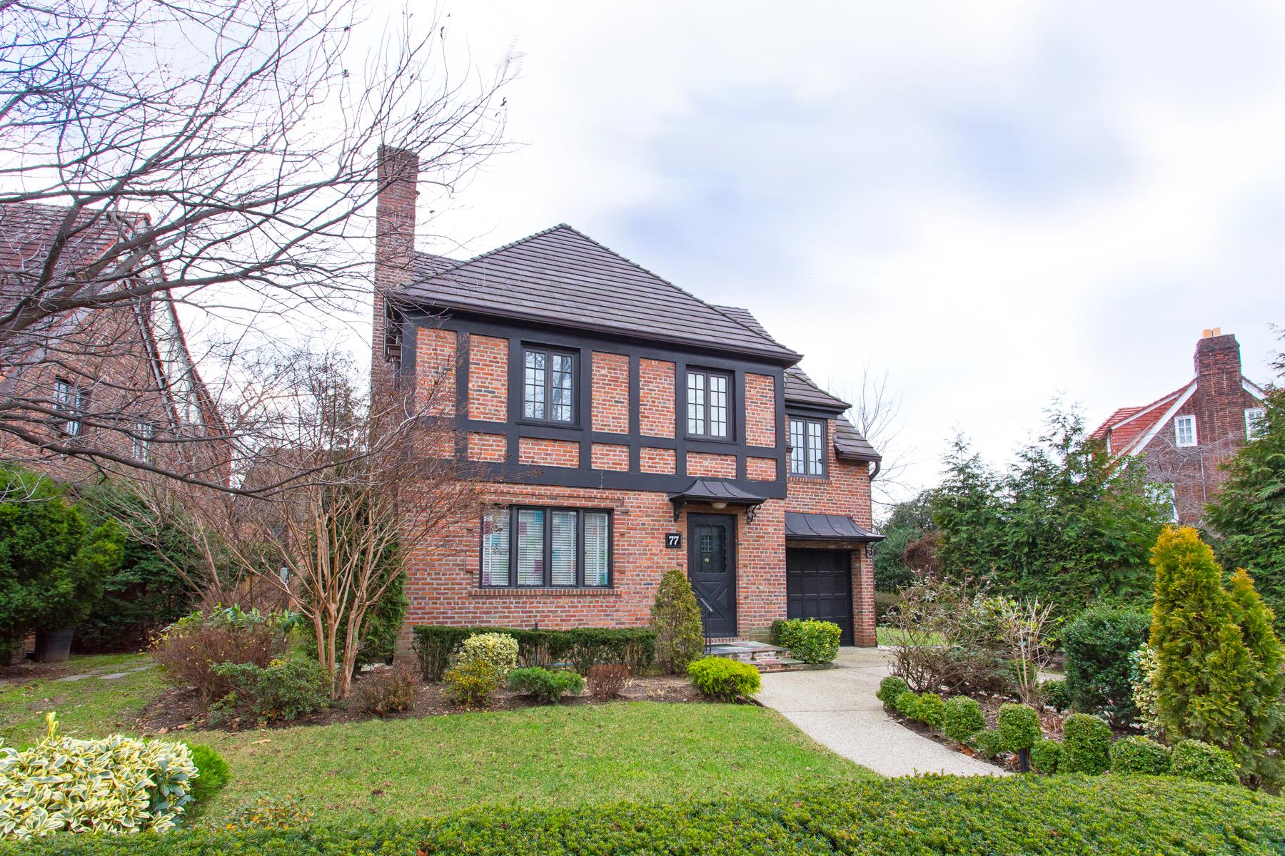 """Single Family Homes för Försäljning vid """"RENAISSANCE TUDOR"""" 77 Dartmouth Street, Forest Hills Gardens,, Queens, New York 11375 Förenta staterna"""