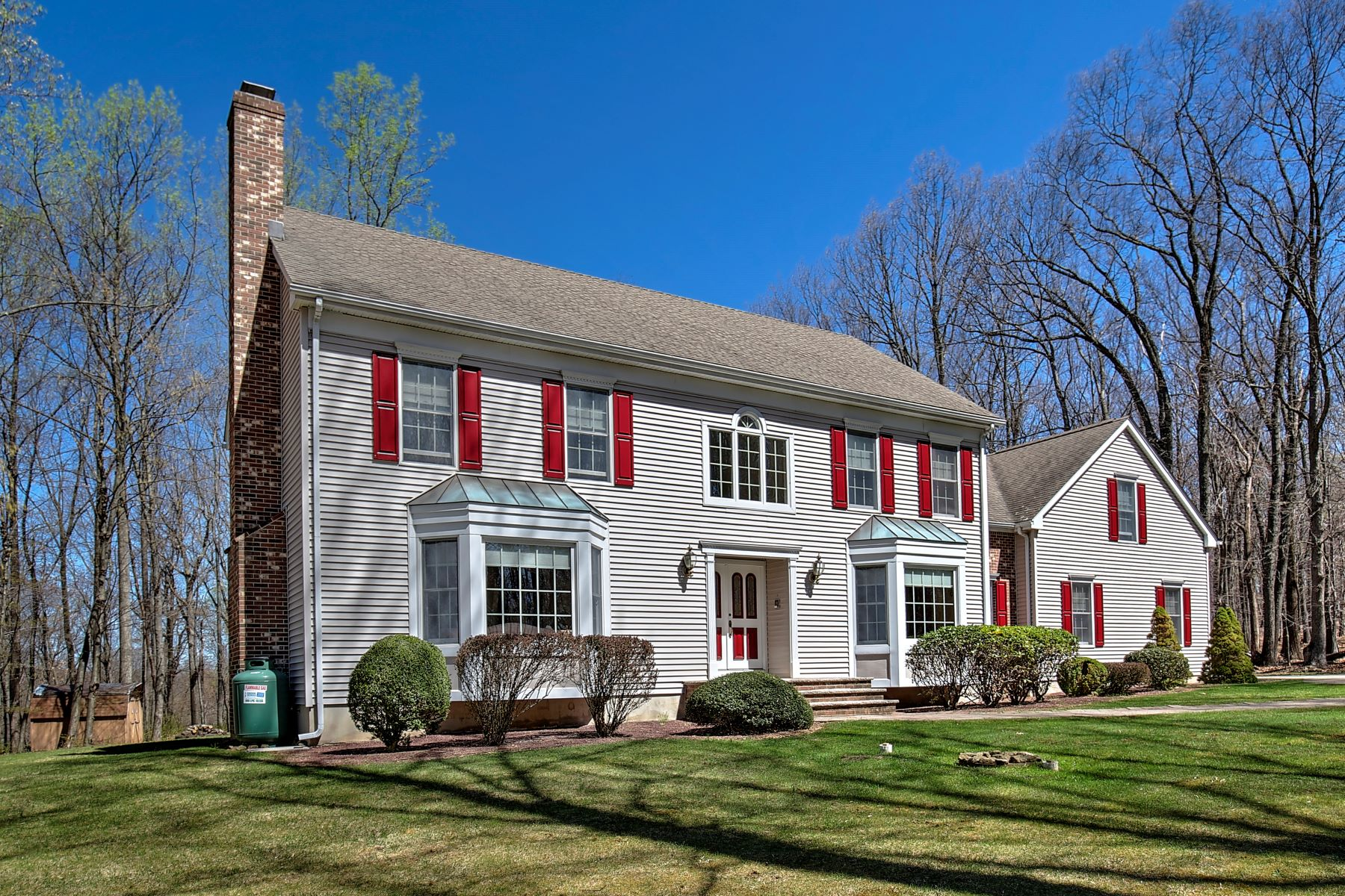 Single Family Home for Sale at Inviting Custom Colonial 31 Philhower Road Tewksbury Township, New Jersey 08833 United States