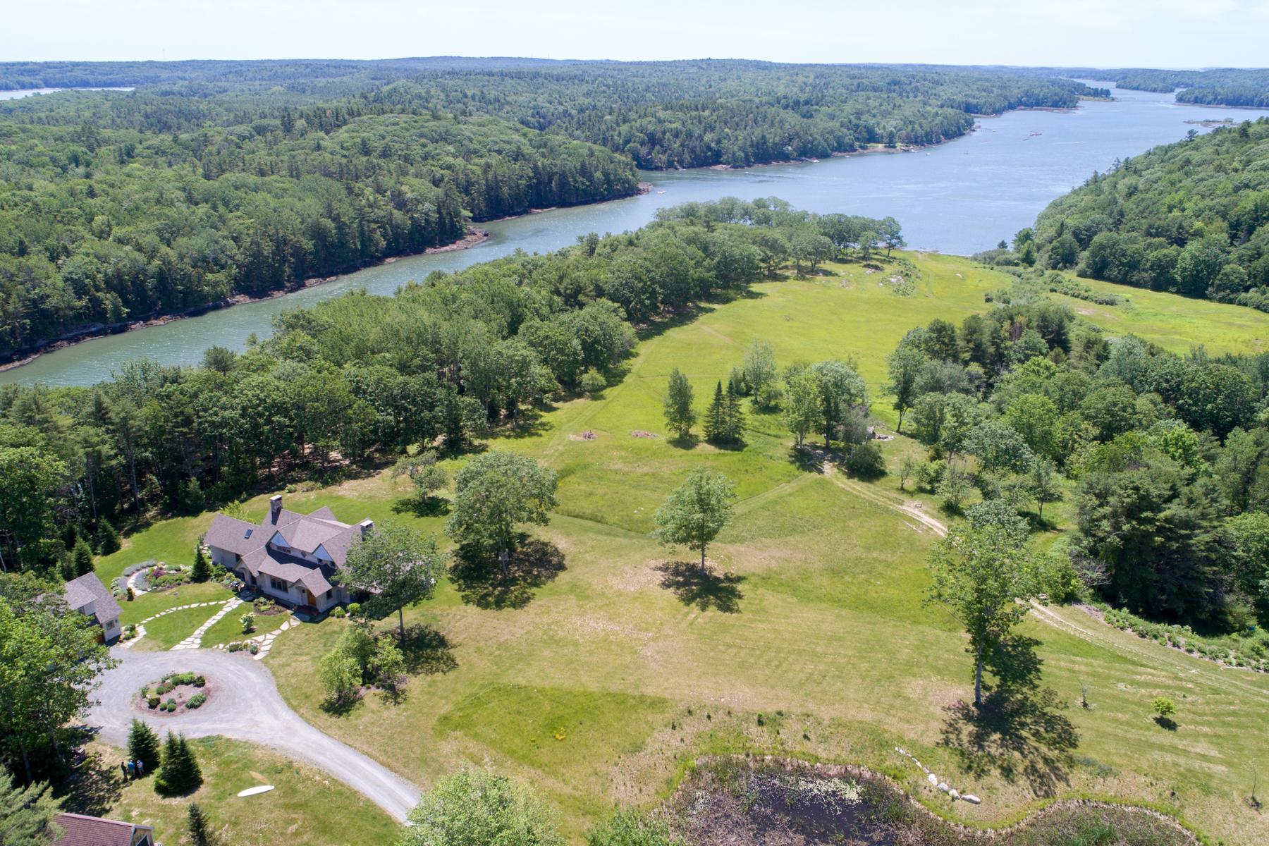 其它住宅 为 出租 在 Highfields Edgecomb, 缅因州, 04556 美国